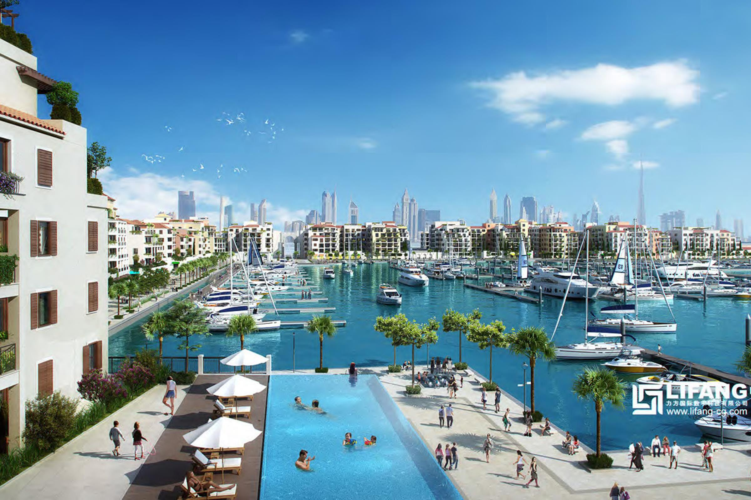 La Mer | Fantastic Location | Marina View