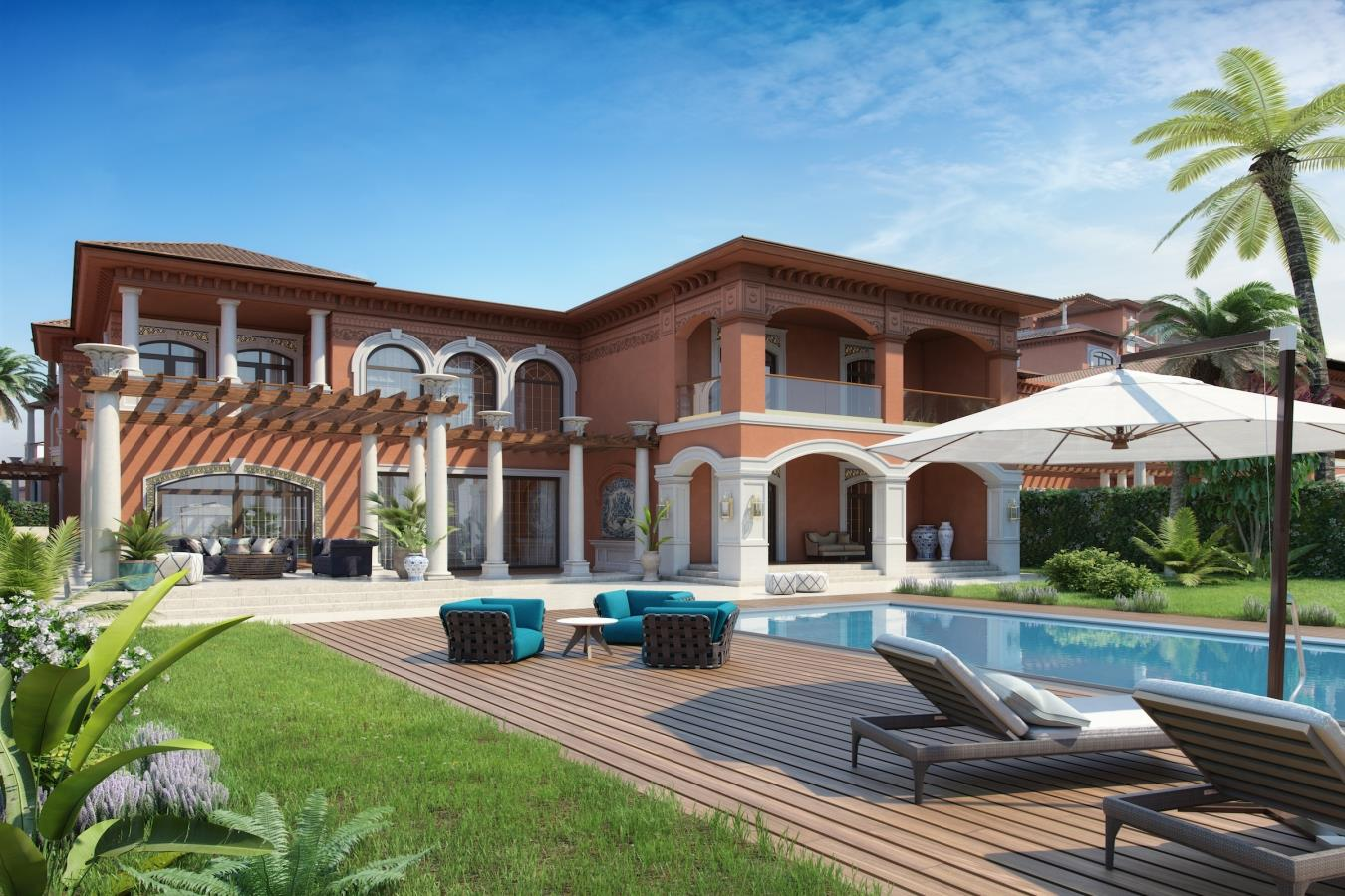 XXII Carat Sapphire Villa  Palm Jumeirah