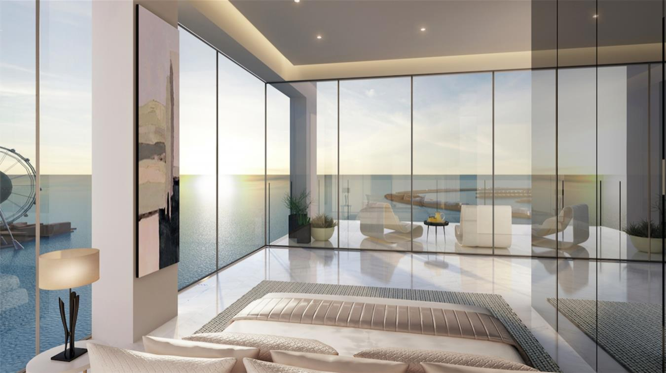1/JBR High-floor Apartment with Sea View