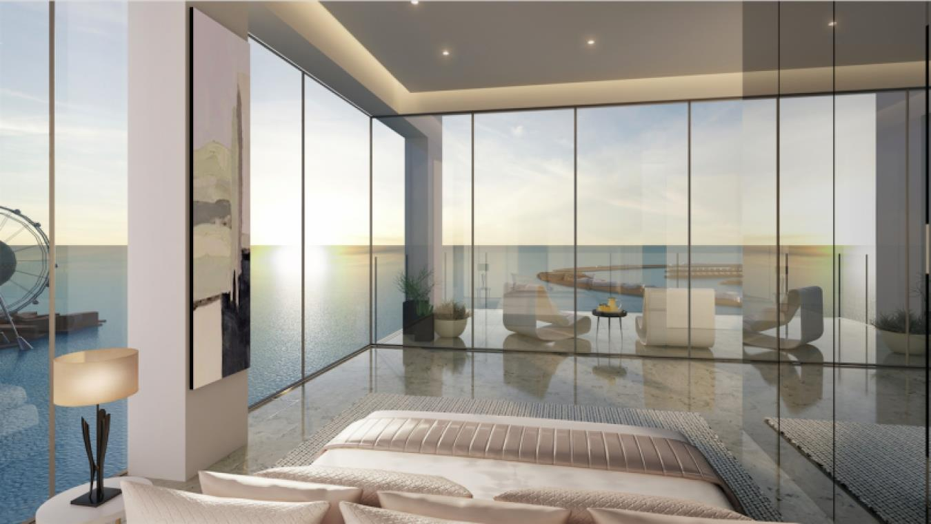 Luxury Apartment In 1/JBR with Sea View