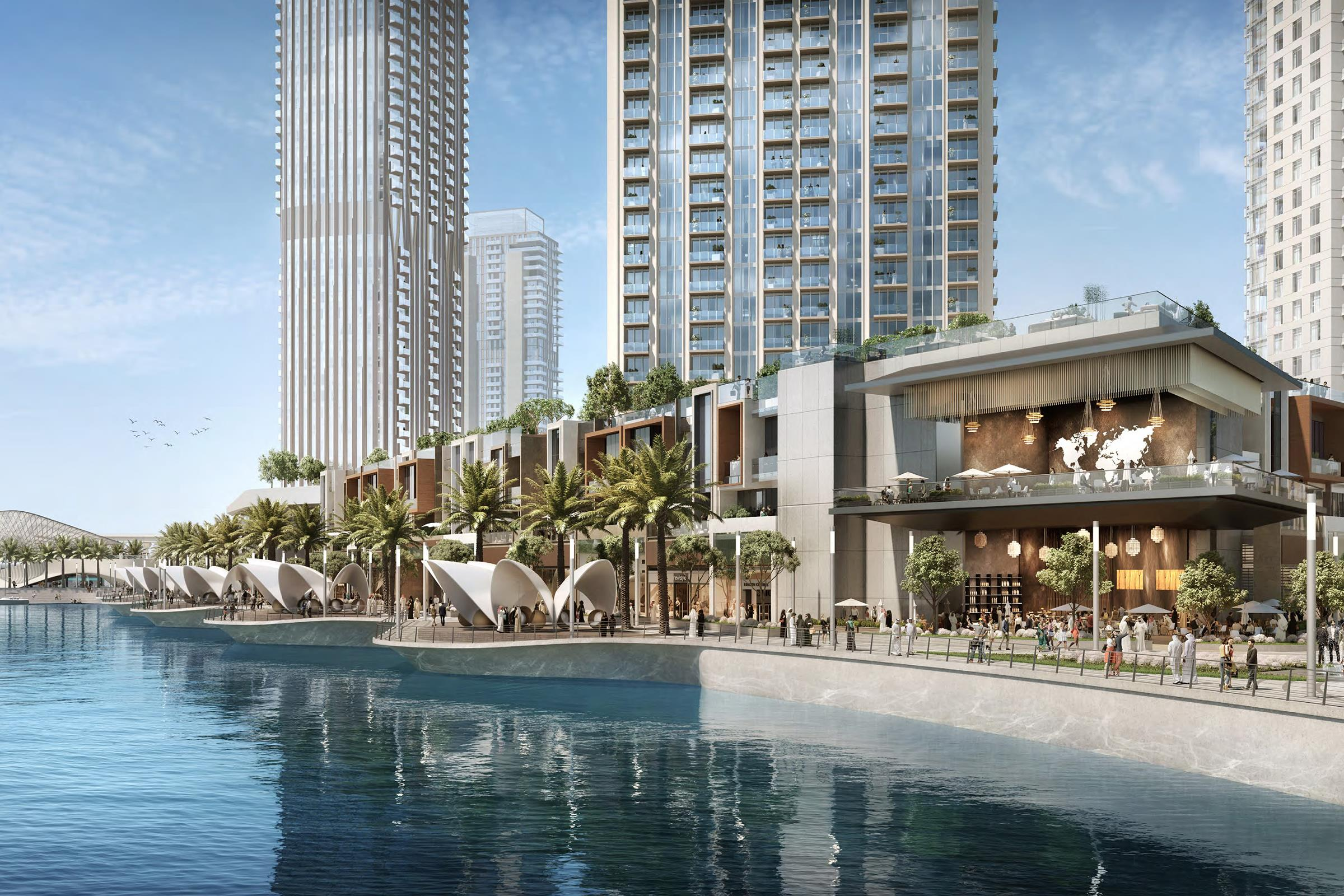 The Grand | Creek Harbour | 1 BR Stunning Views