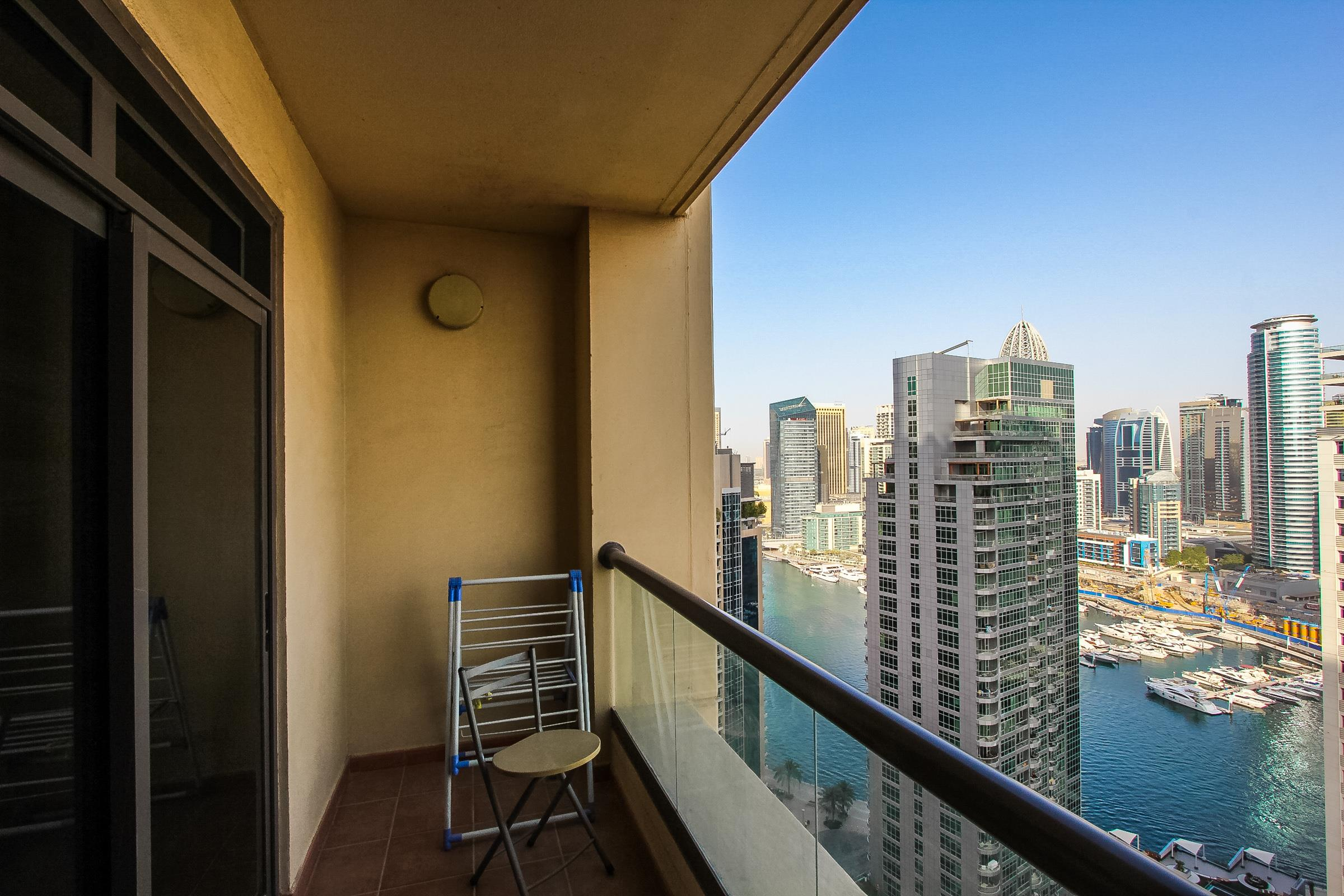 Full Marina View 2 Bed Corner Apartment