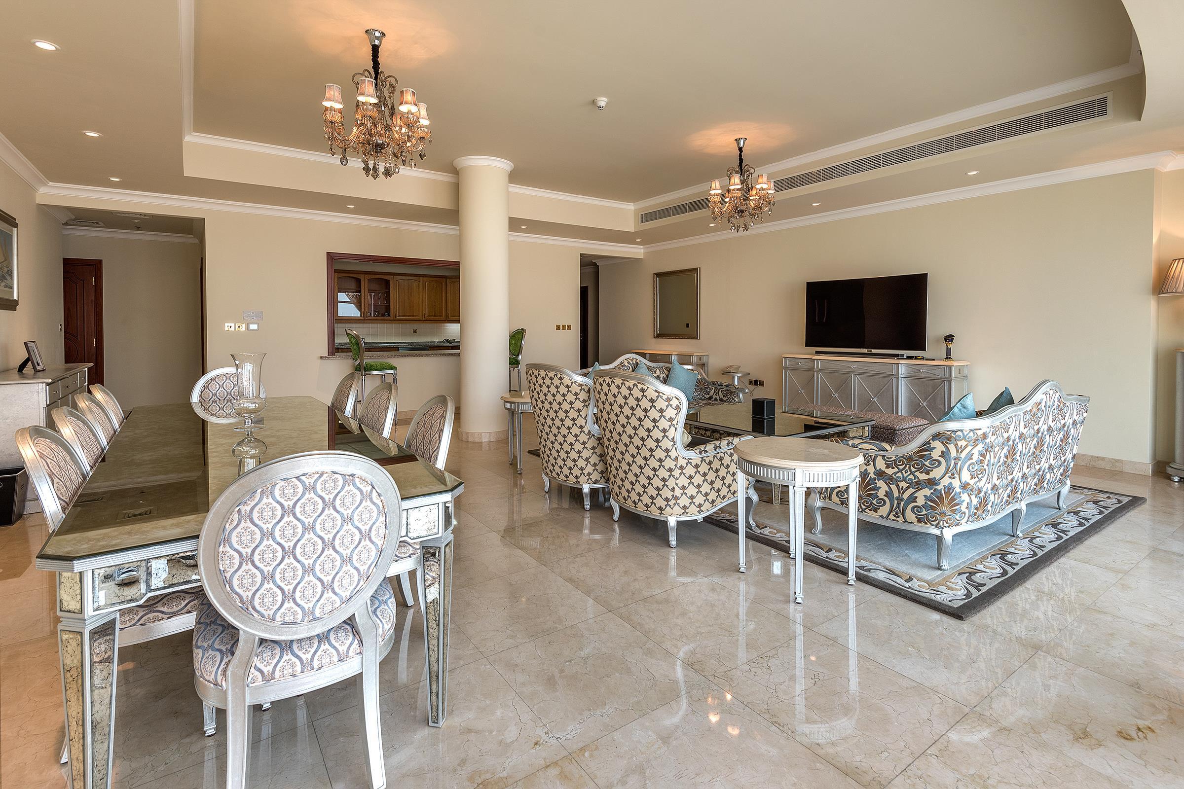 Attractive Price 4 BR Penthouse Kempinski Palm