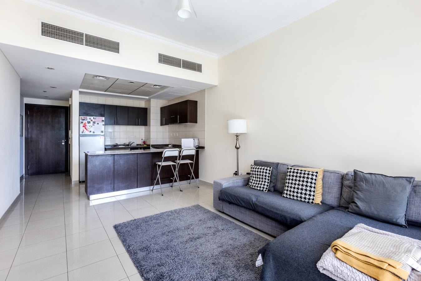 One Bedroom with Partial Marina Views
