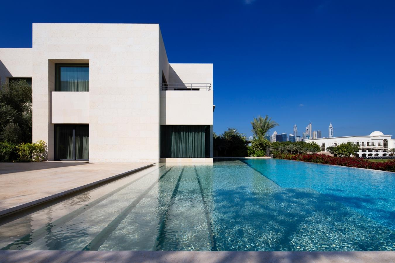 Architectural Gem Full Golf Course Emirates Hills Villa