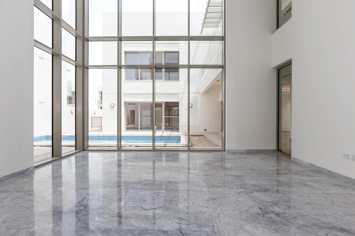 Largest Corner Plot Contemporary with Lift and Burj View