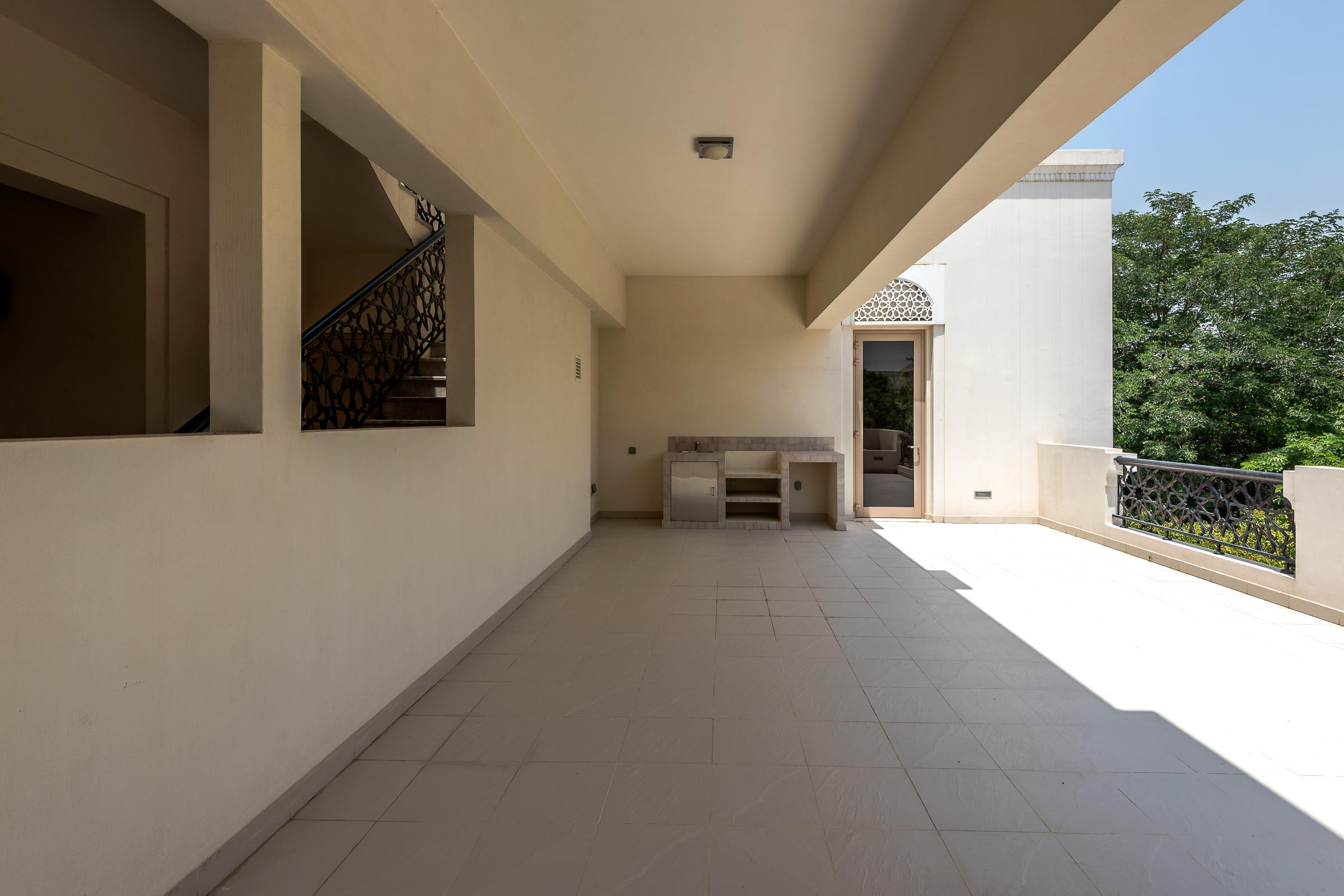 Type A Al Barari Villa Vacant Private Plot