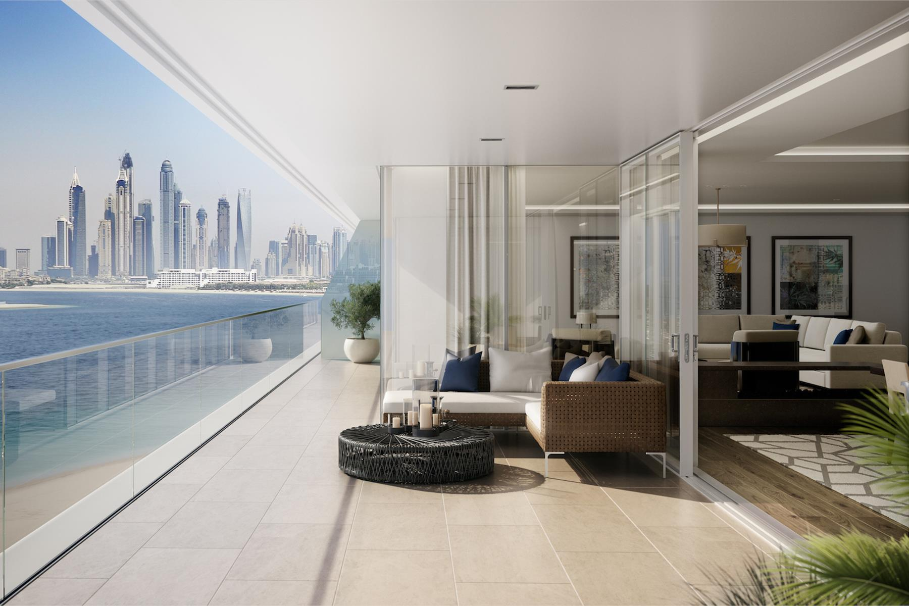 Alef Residence with Palm Views, Mansion One