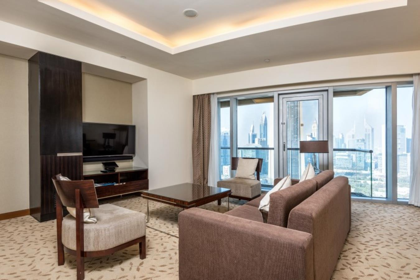 Largest One Bed in Hotel Pool on High Floor