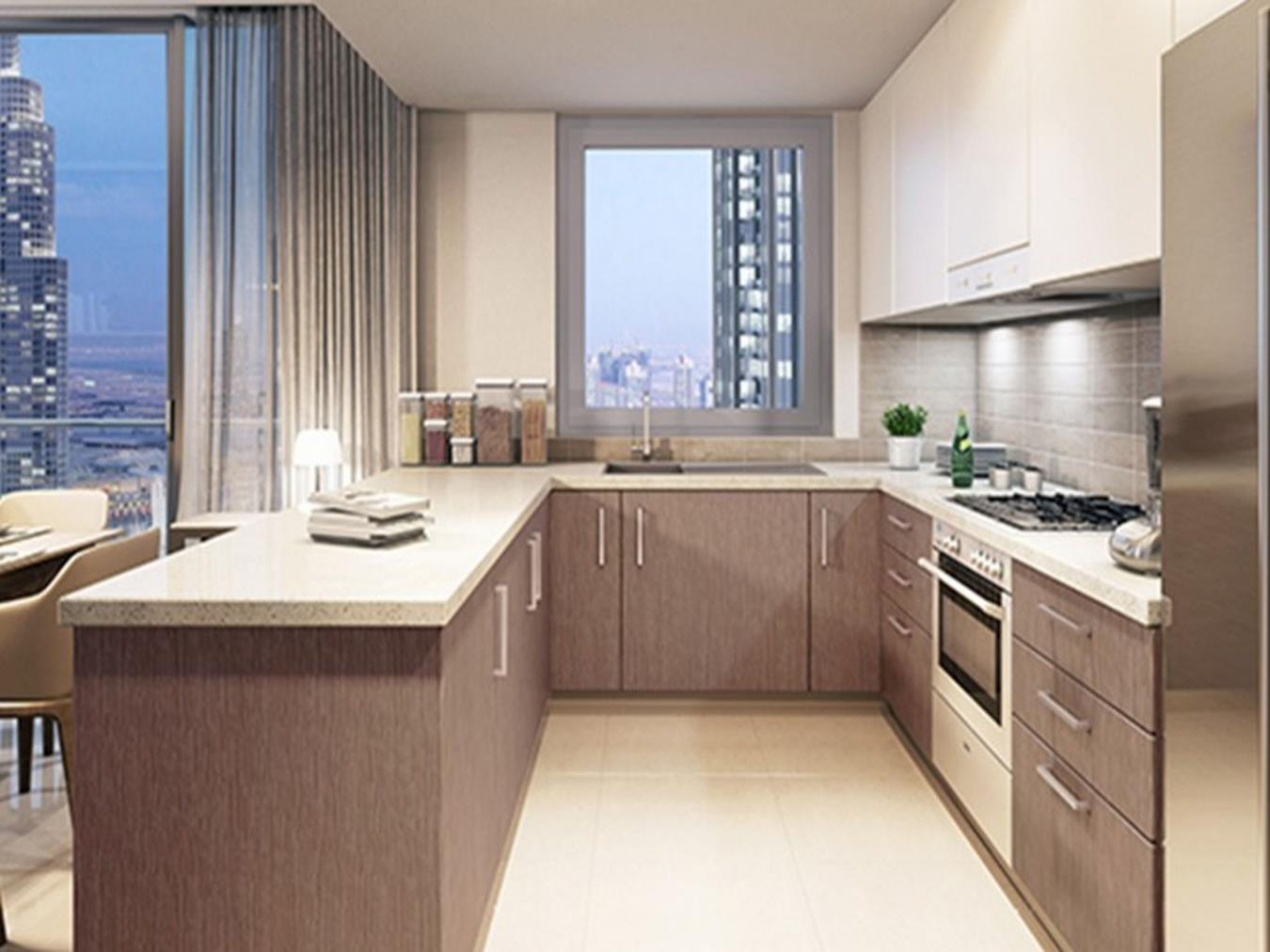 3 BR Apt with  Maids in Boulevard Crescent T1