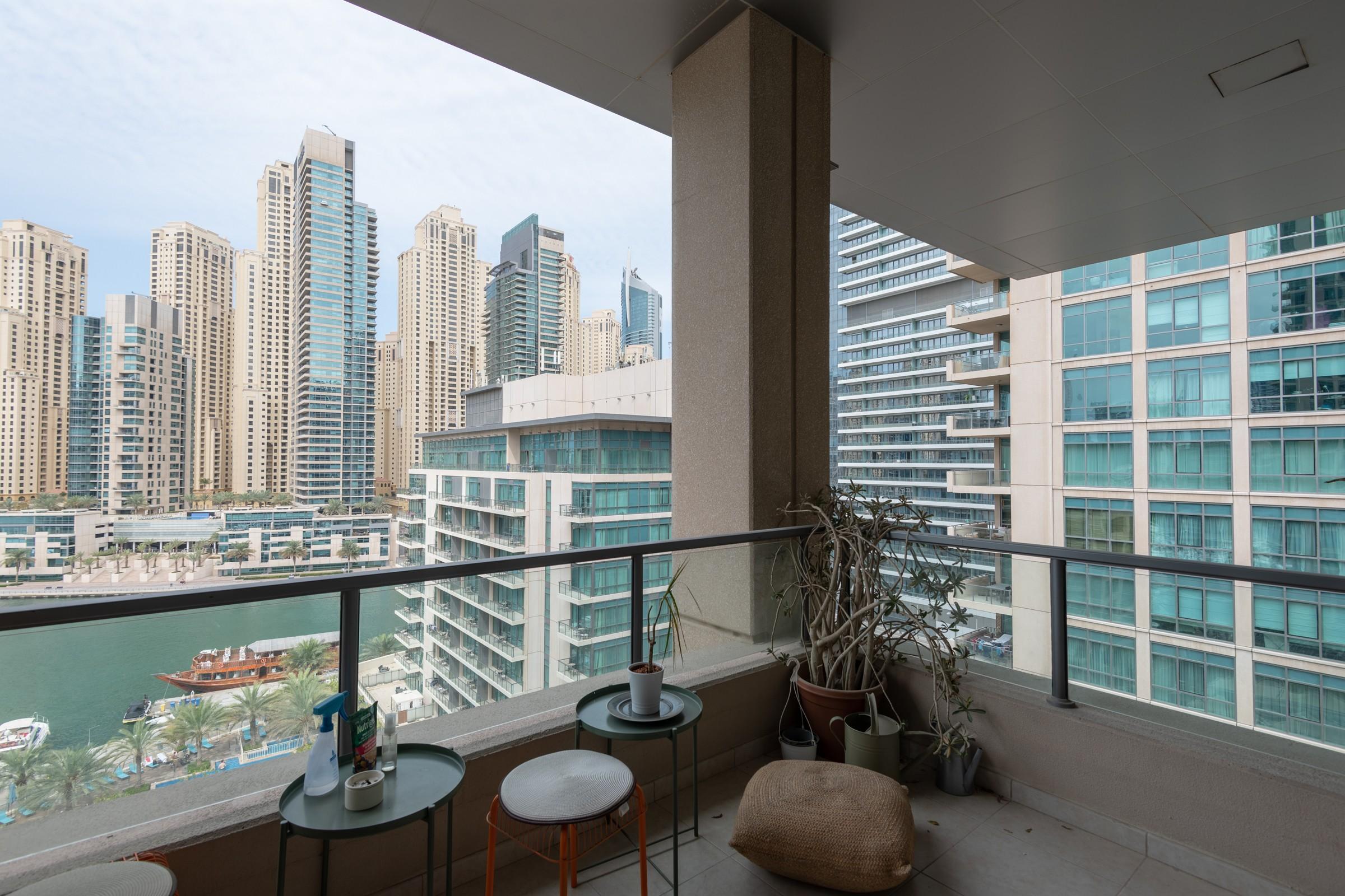 Upgraded I Semi Furnished I Marina Views