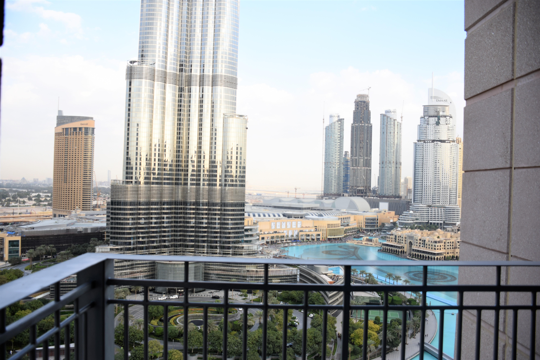 Full Fountain  Burj Khalifa | High Floor