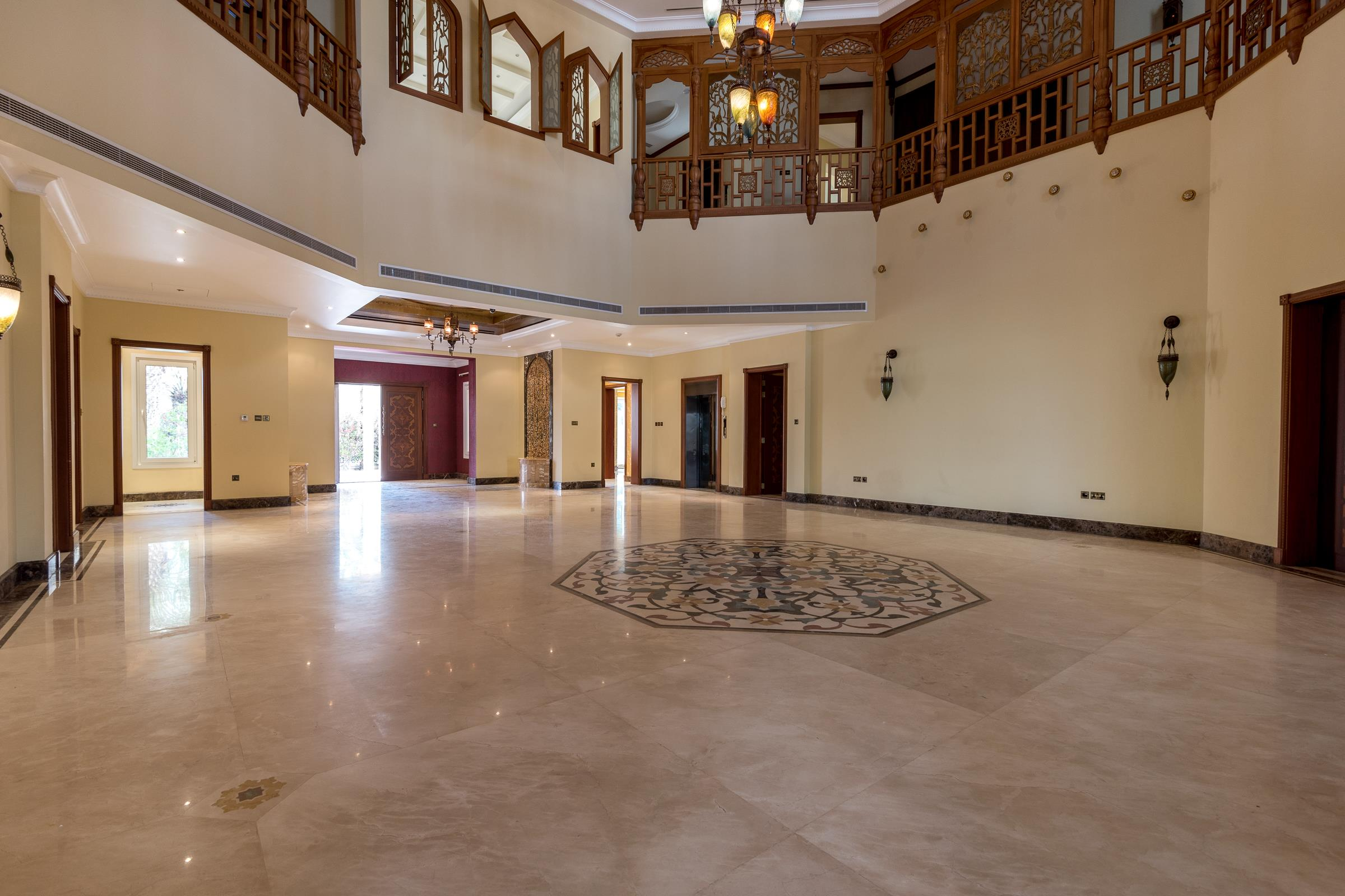 Arabic Style Villa with Golf Course View