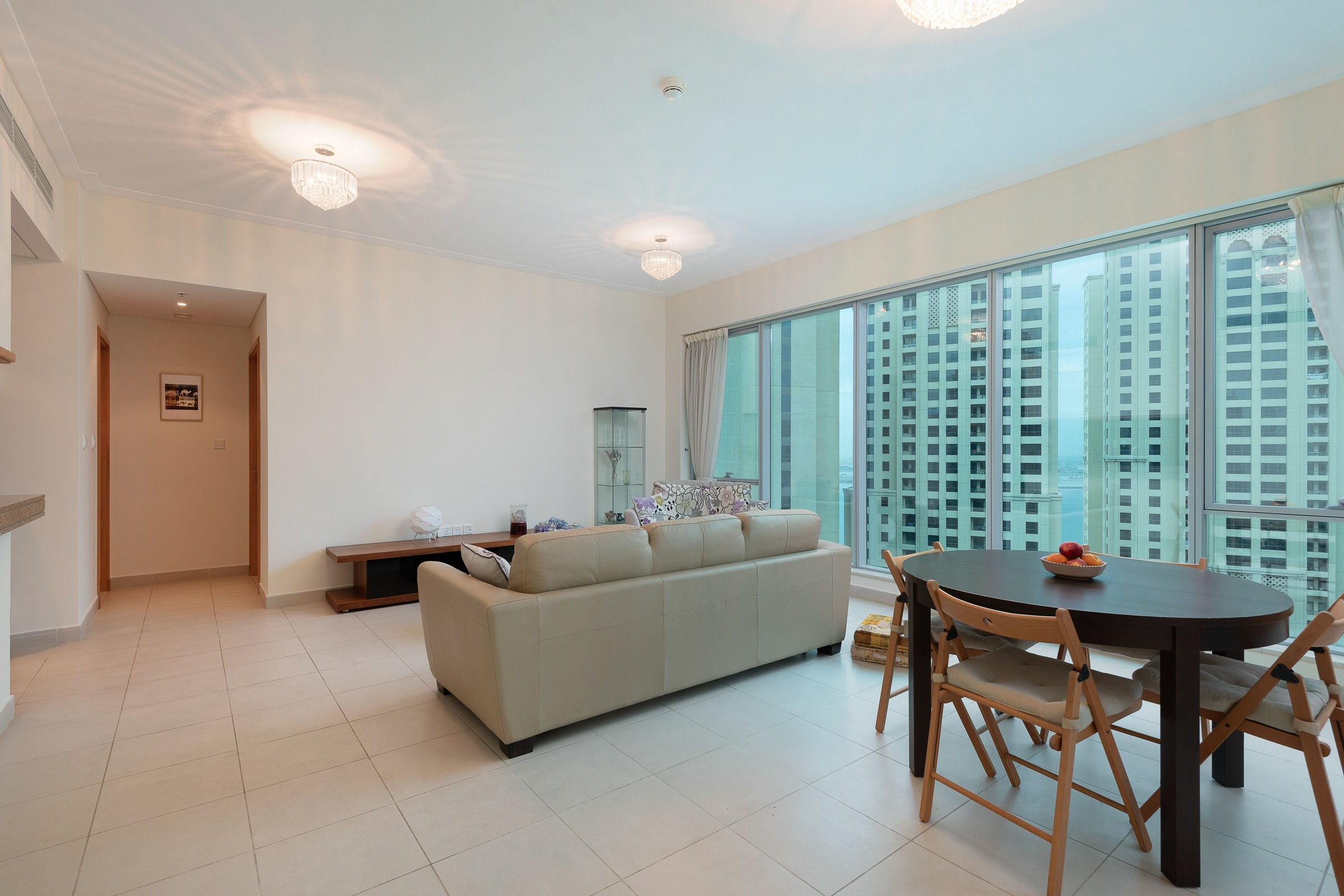 Brand New High Floor Sea and Marina View