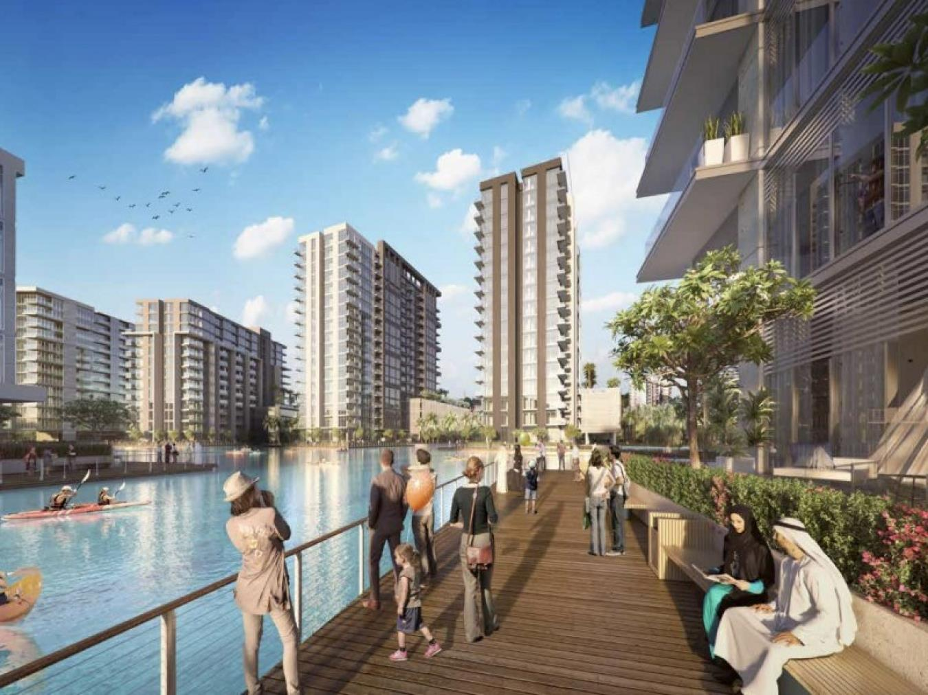 1 BedRoom Residences With Canal Views