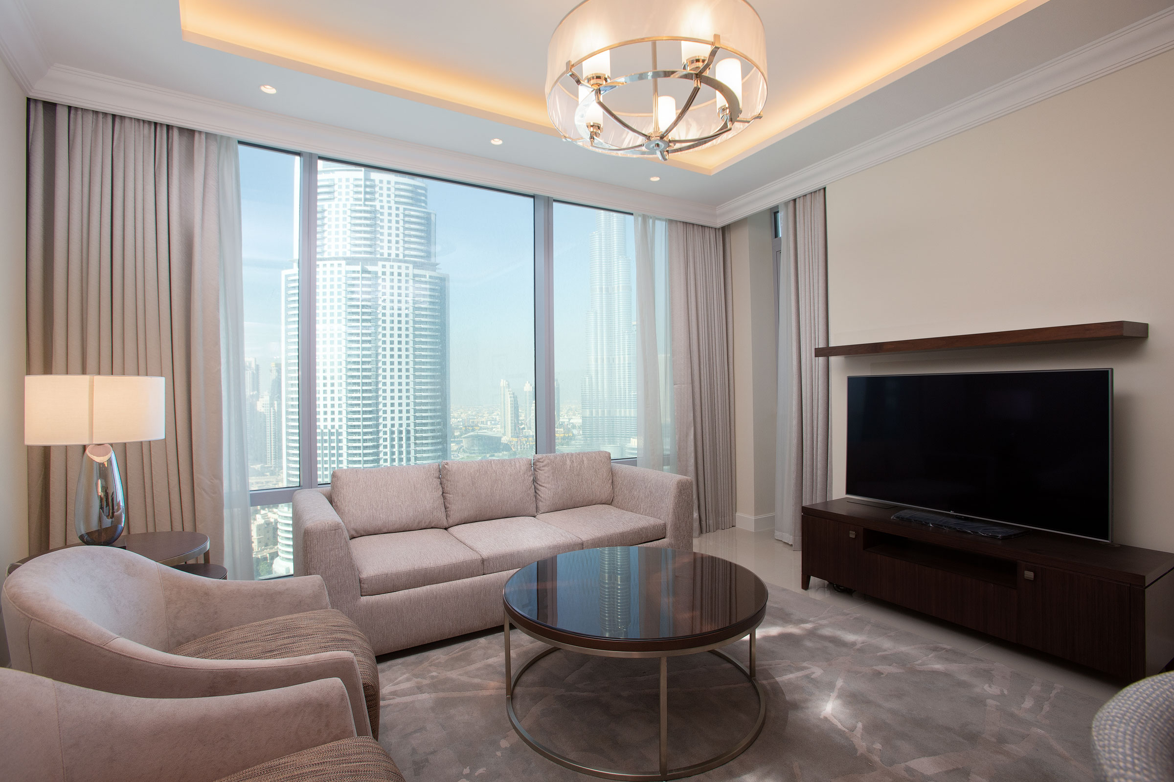 Full Burj Khalifa & Fountain Center Unit