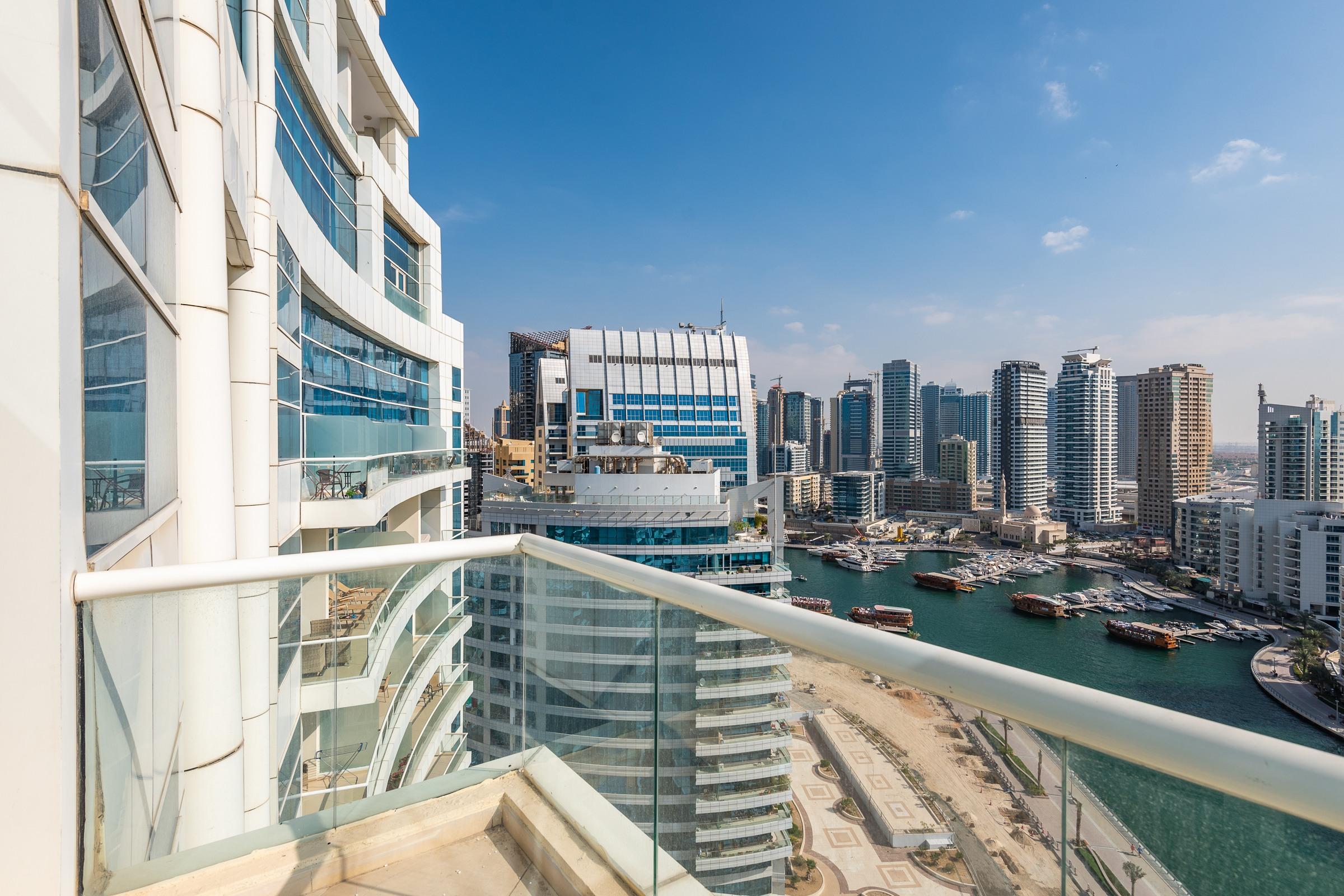 Rare Duplex 2BR + Study with Marina View