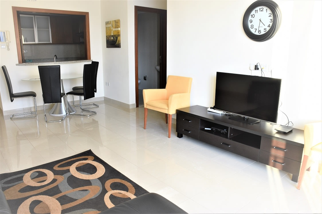 Furnished 1 Bed | Opera and Fountain View