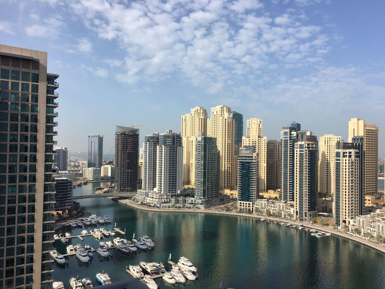 1 Bed Study with Picturesque Marina view