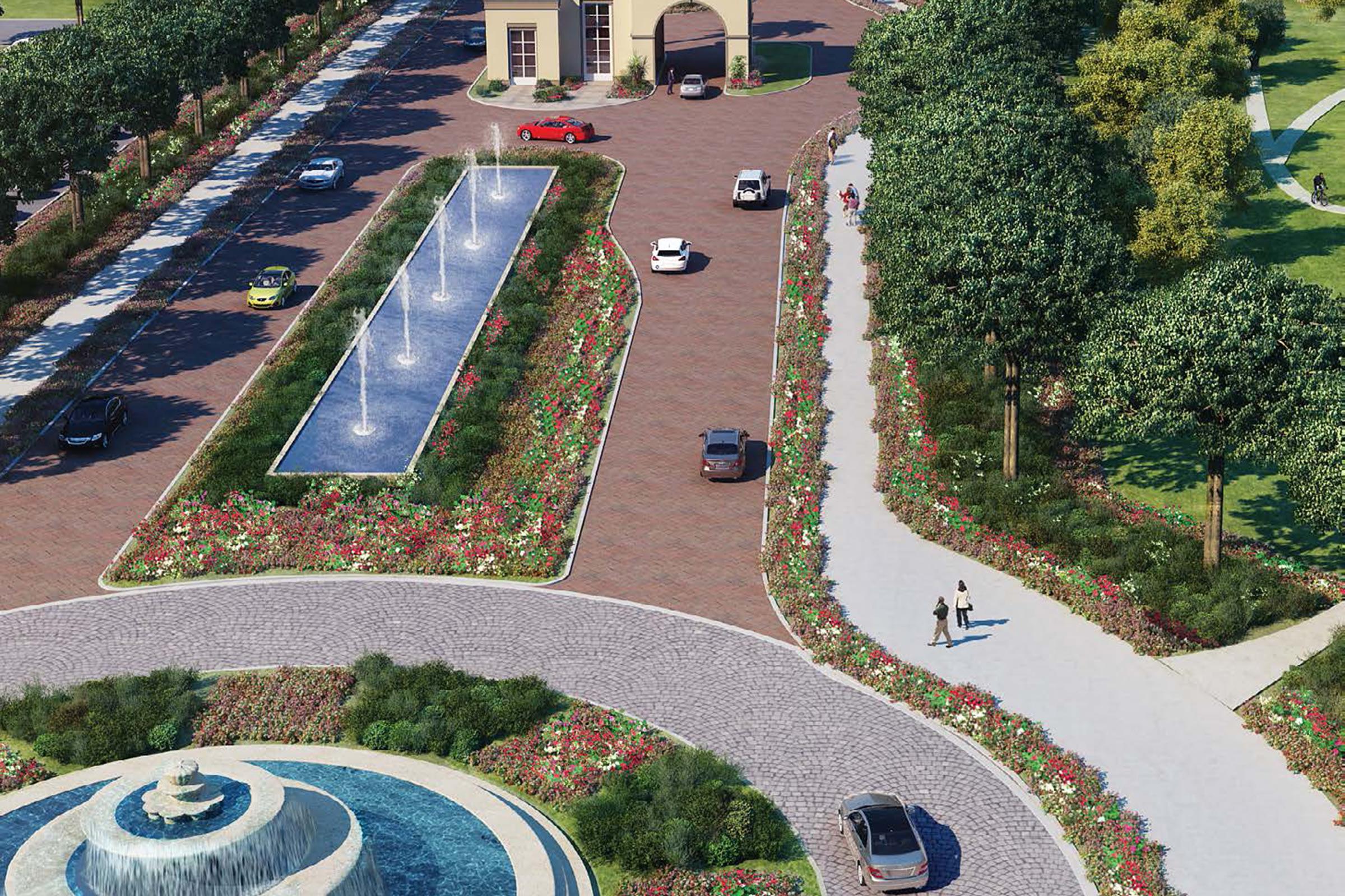 Fairways Golf Course View Large End Plot