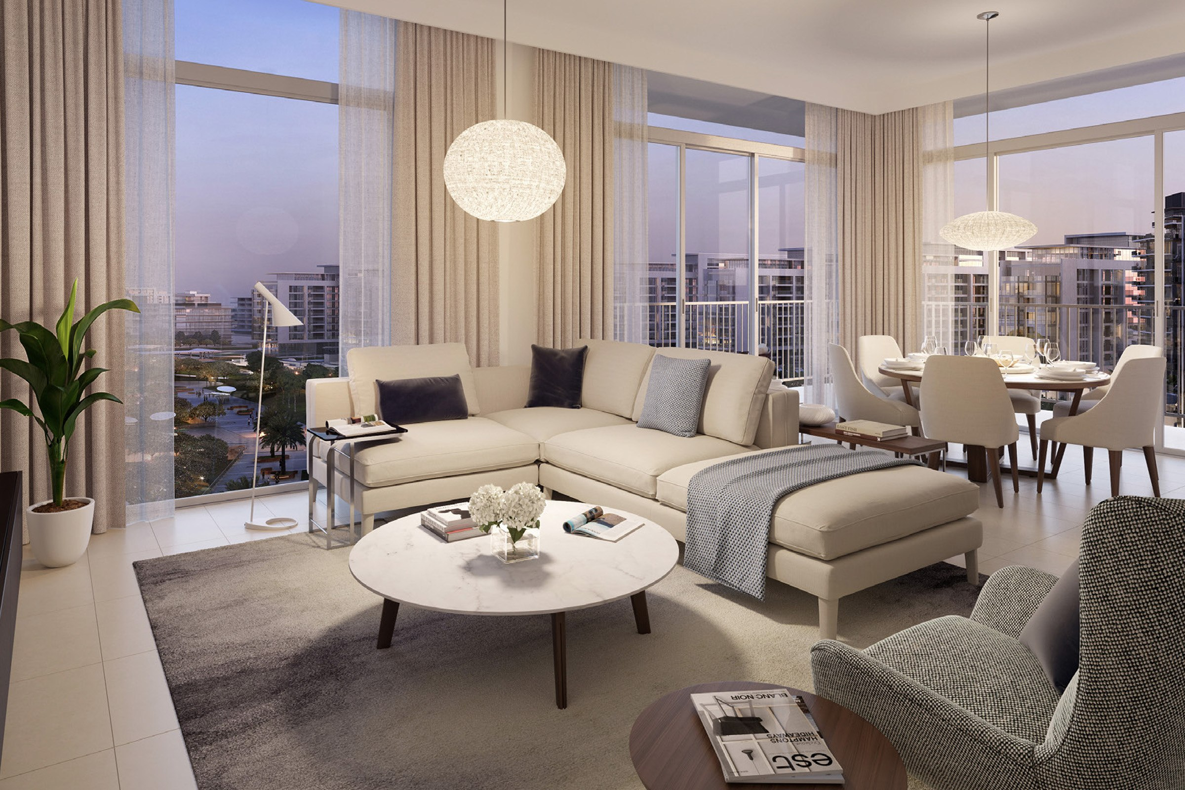 One Bedroom | Executive Residences | DHE