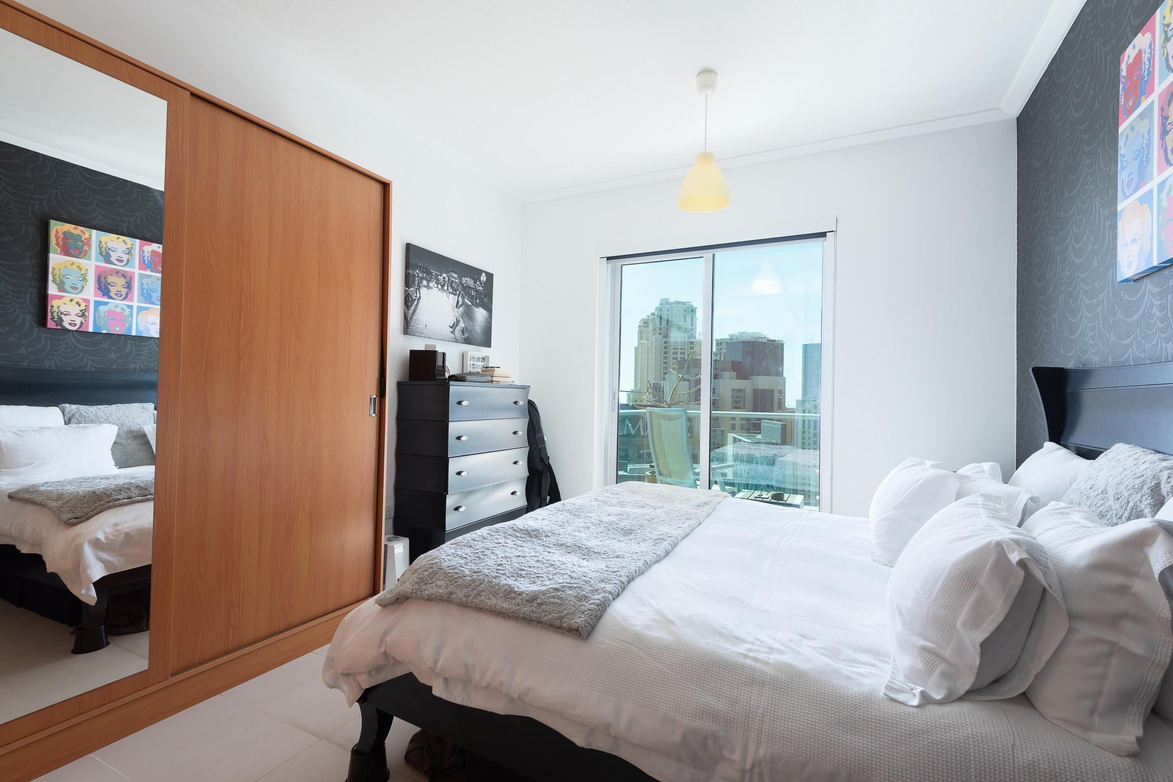 One Bed | High Floor | Marina and Sea Views