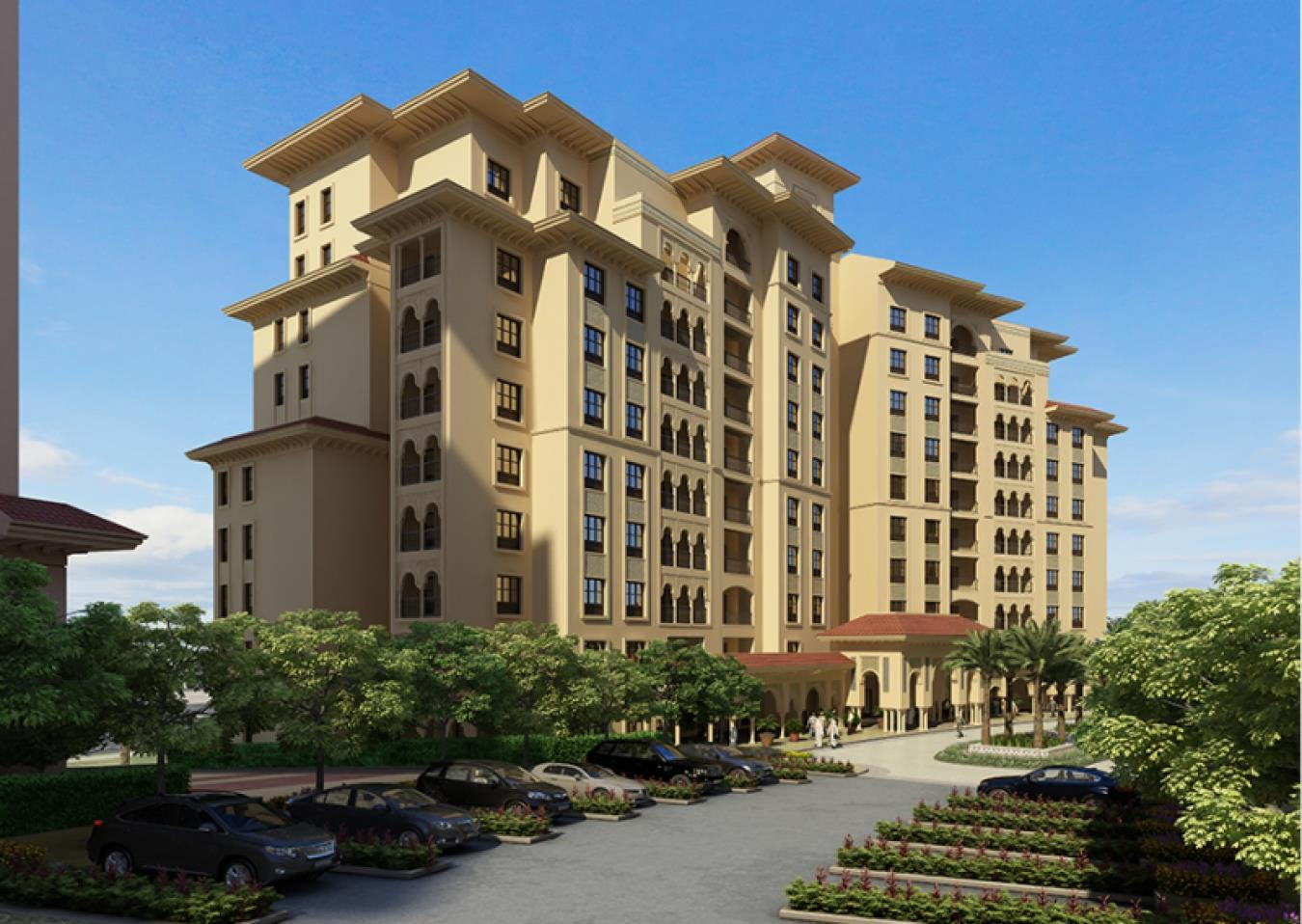 AlAndalus Great location 2 BR| Brand New