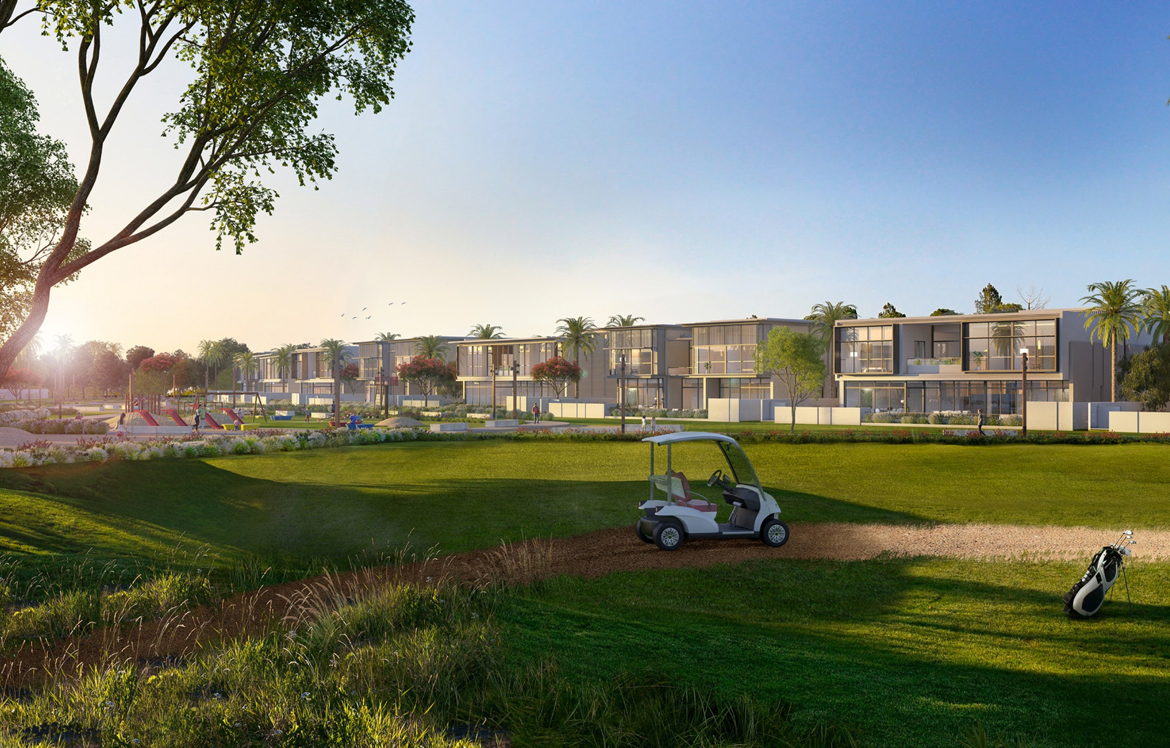 Golf Place in Dubai Hills | Four Bedroom