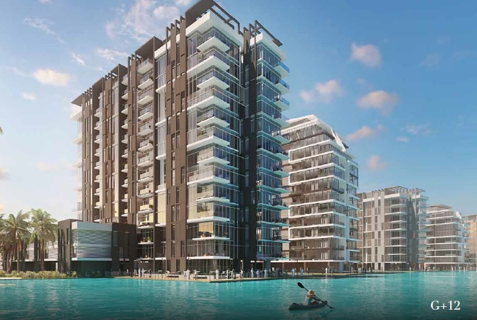 Contemporary 2 Bedroom | Lagoon Facing | MBRC