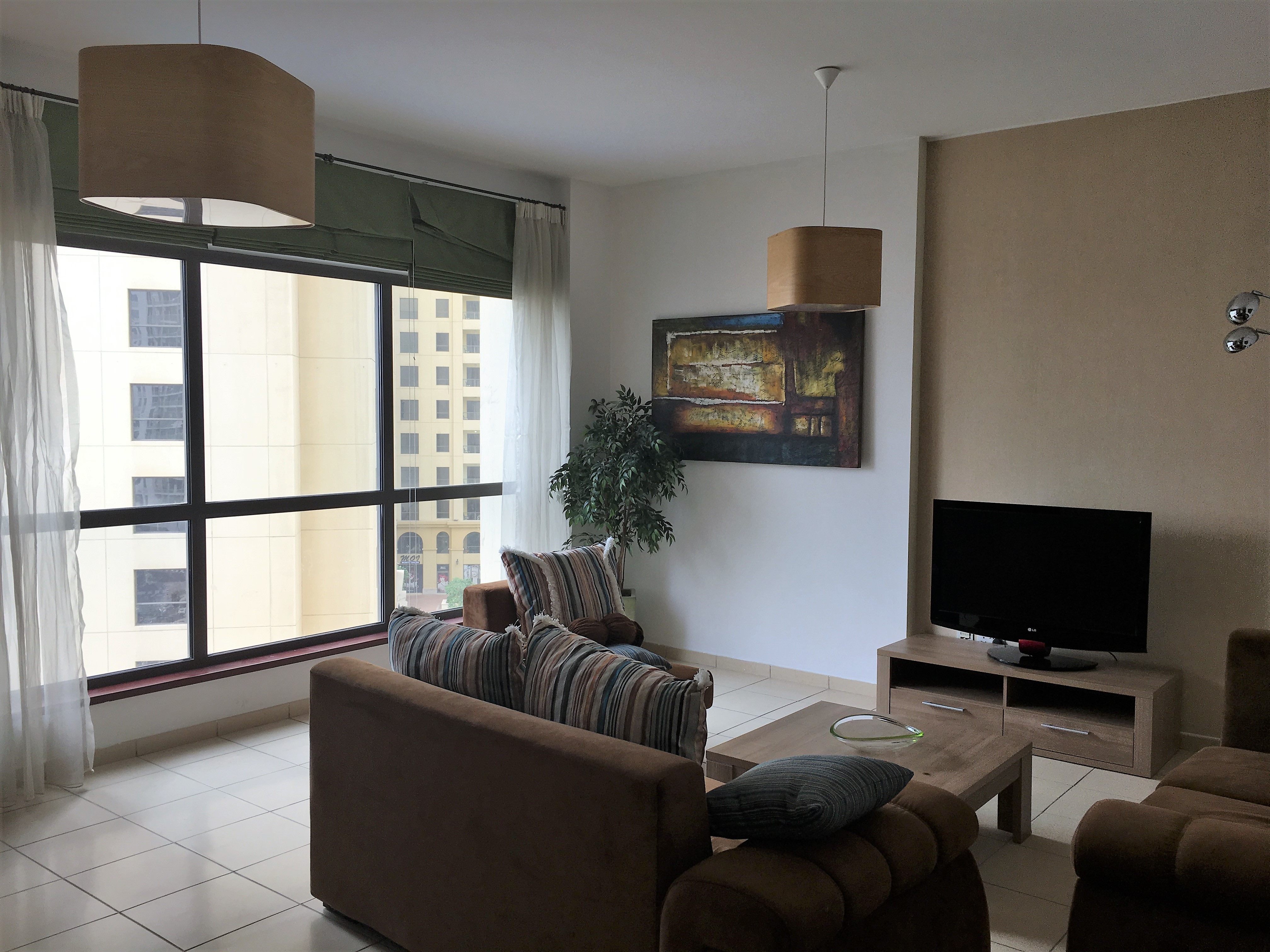 Fully Furnished 3 BR + Maids | 2 Months Free