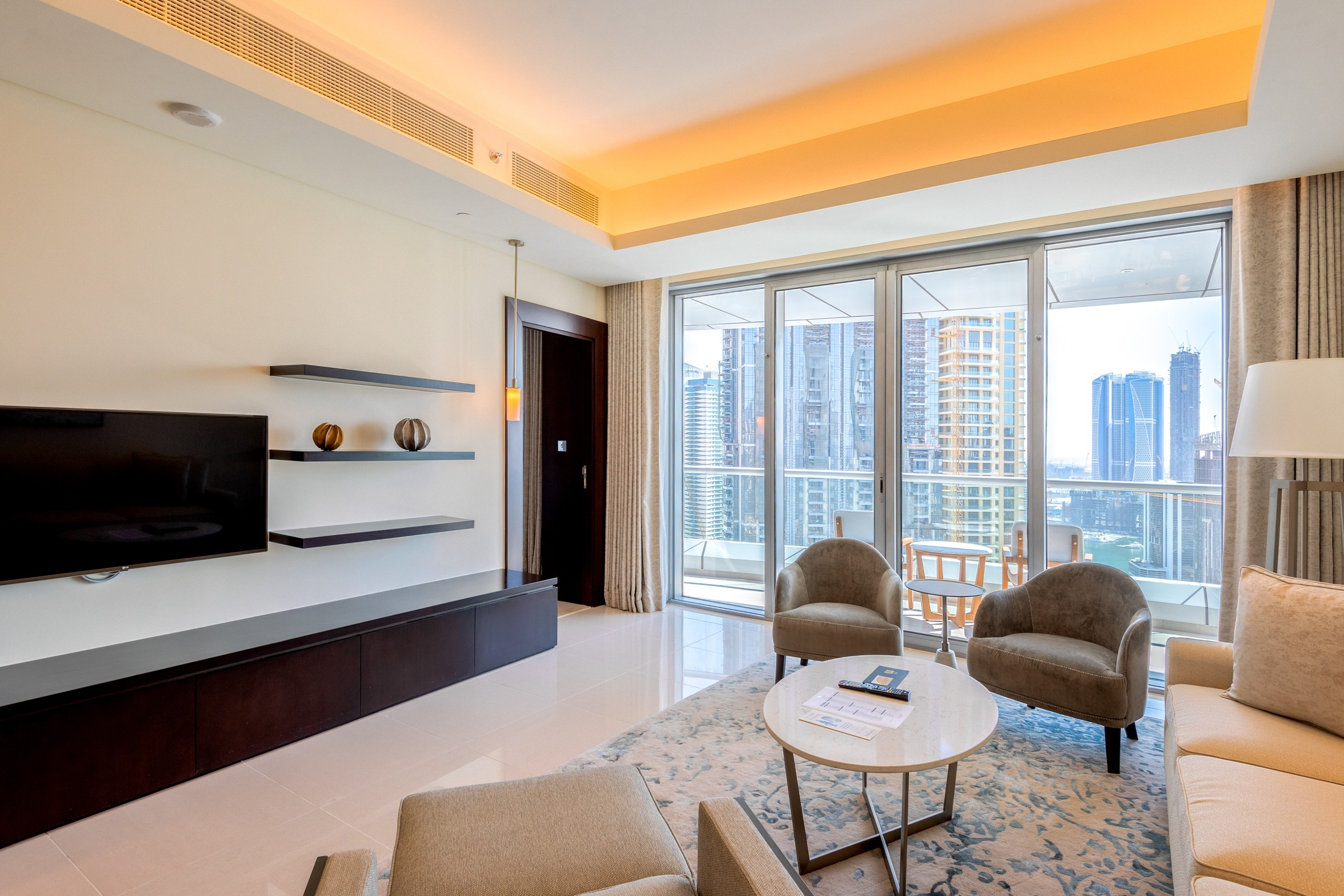 2 BR   High floor   with Euphoric Fountain Views