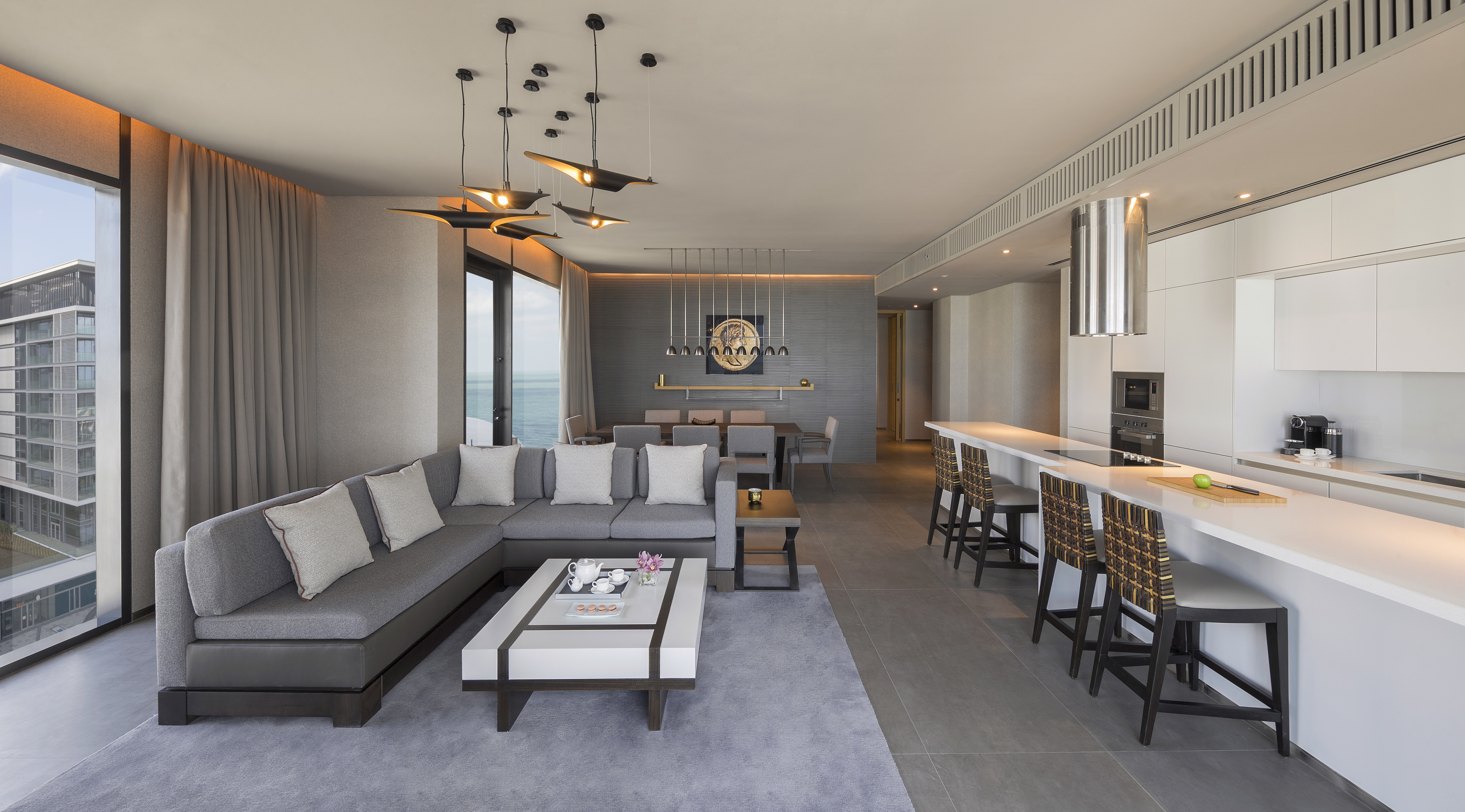 Brand New Luxury Serviced Apartment | 4 Beds