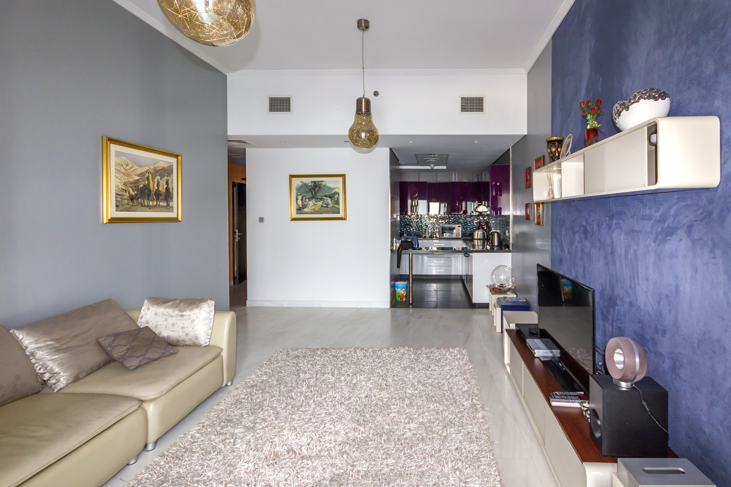 Furnished 1 Bedroom with Sea View   Cayan Tower