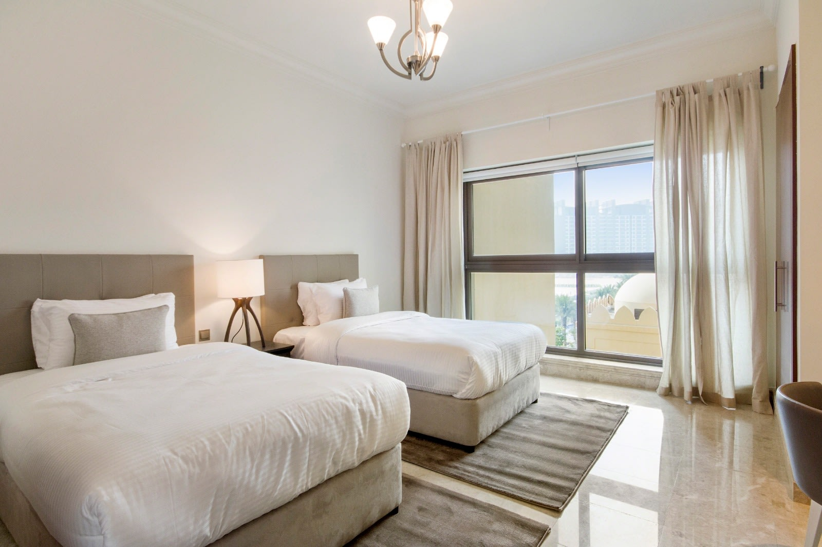 2 Bed plus Maid's | Sea Fairmont Hotel Facing