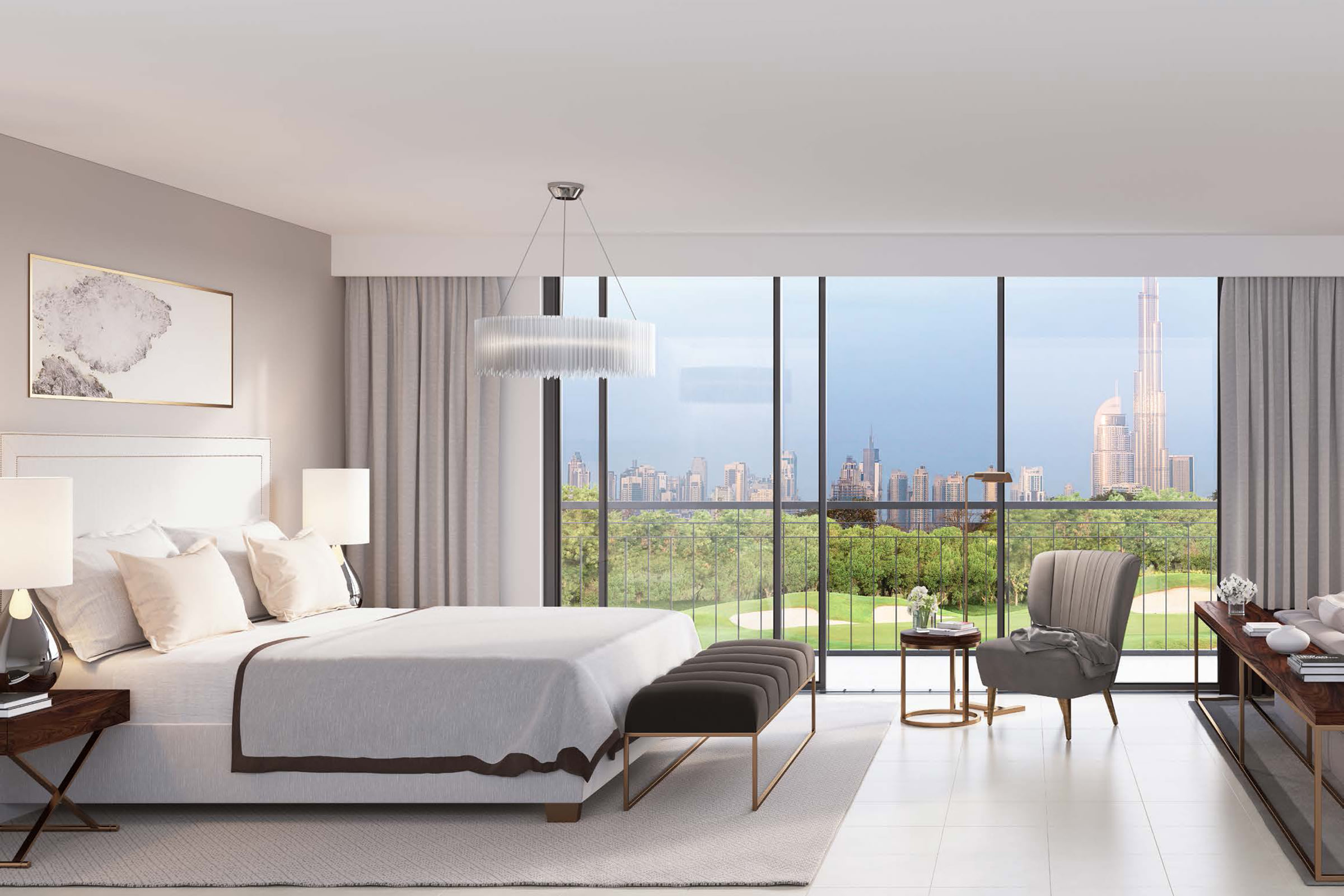 Stunning Modern Property Overlooking the Huge Park