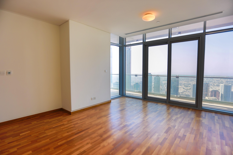 High Floor -Panoramic view of DIFC & Sea