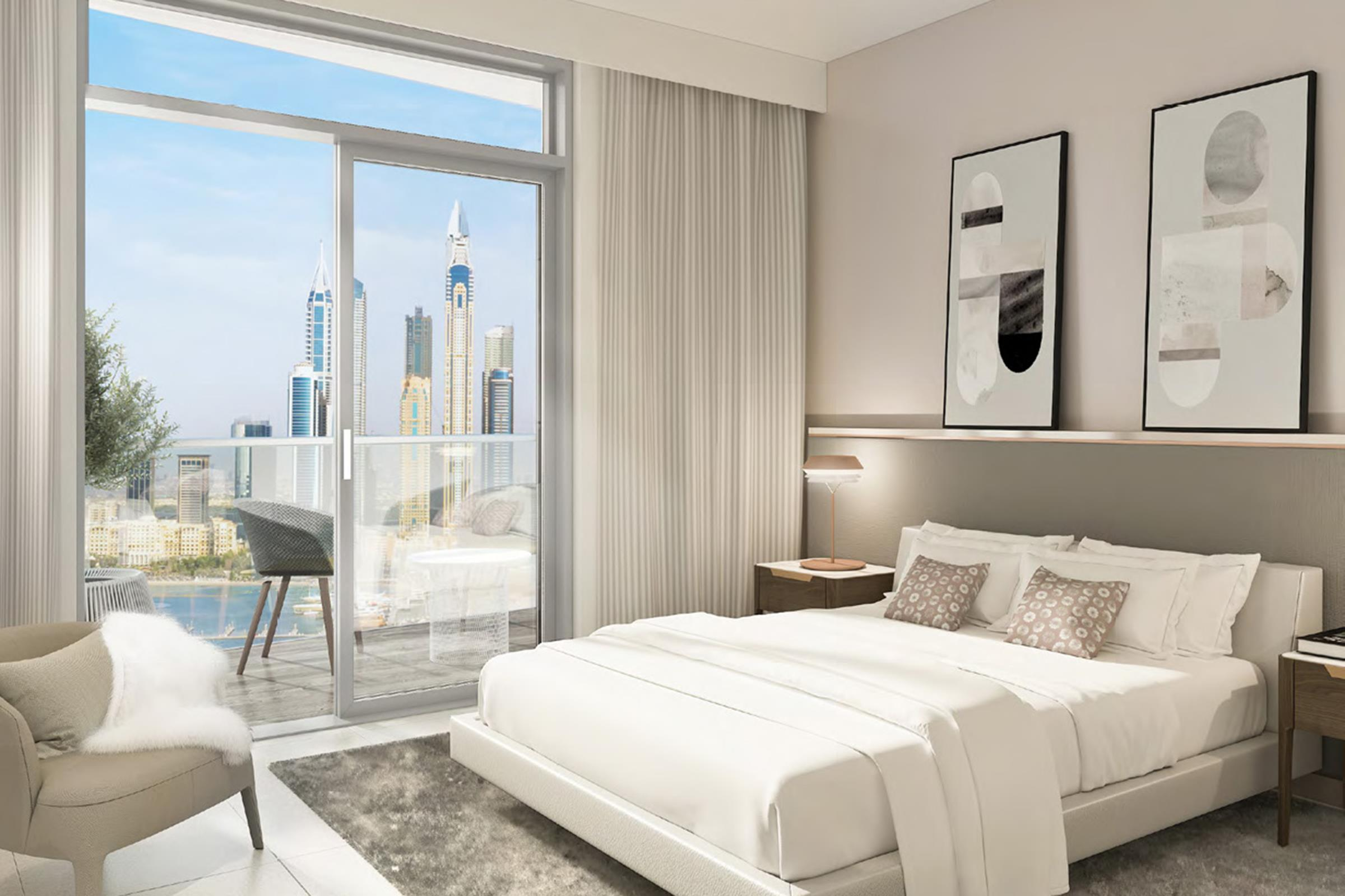 Beachfront Living with Palm Jumeirah View