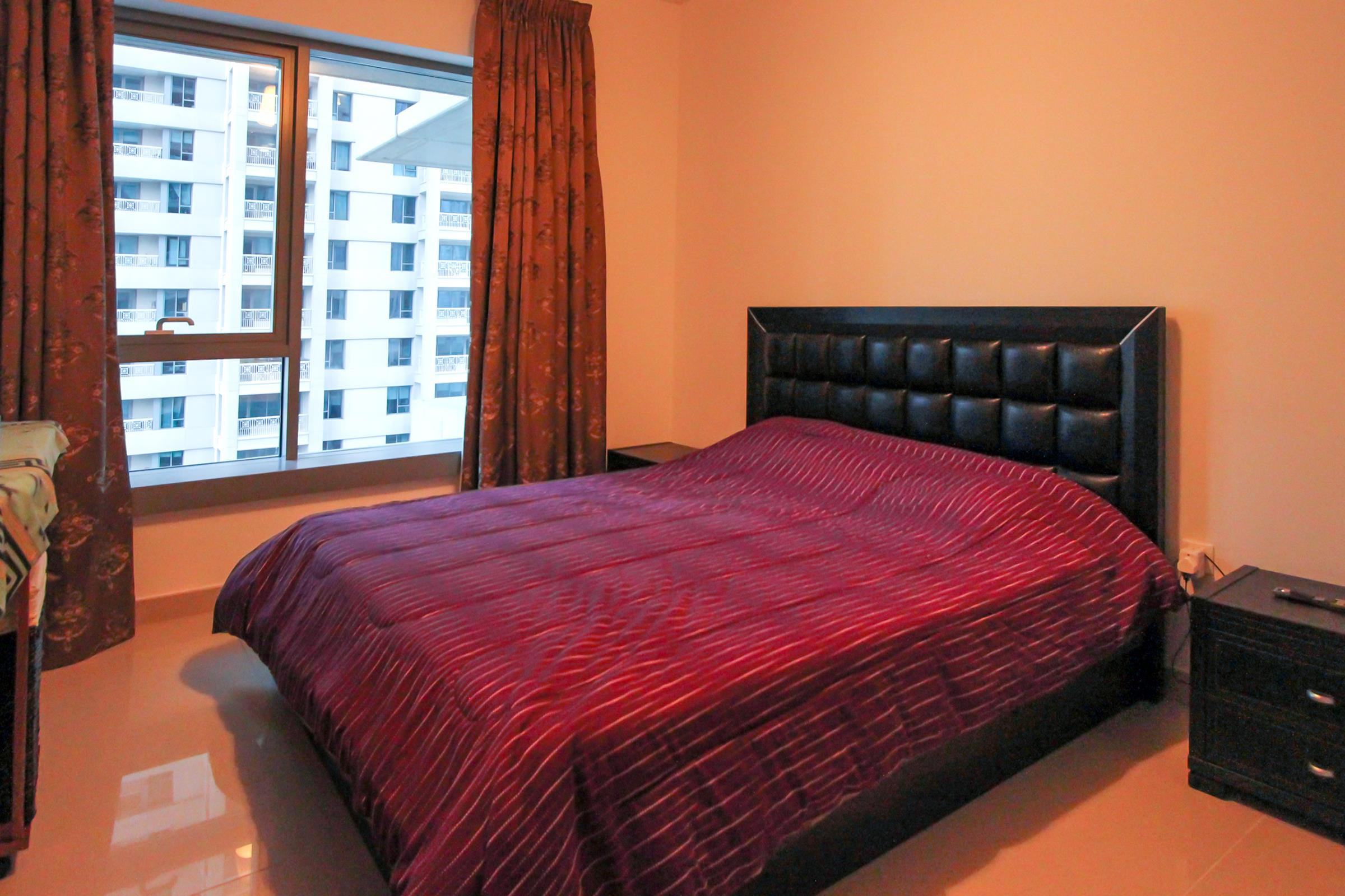 Partial Fountain  | 2 Bedroom  Furnished