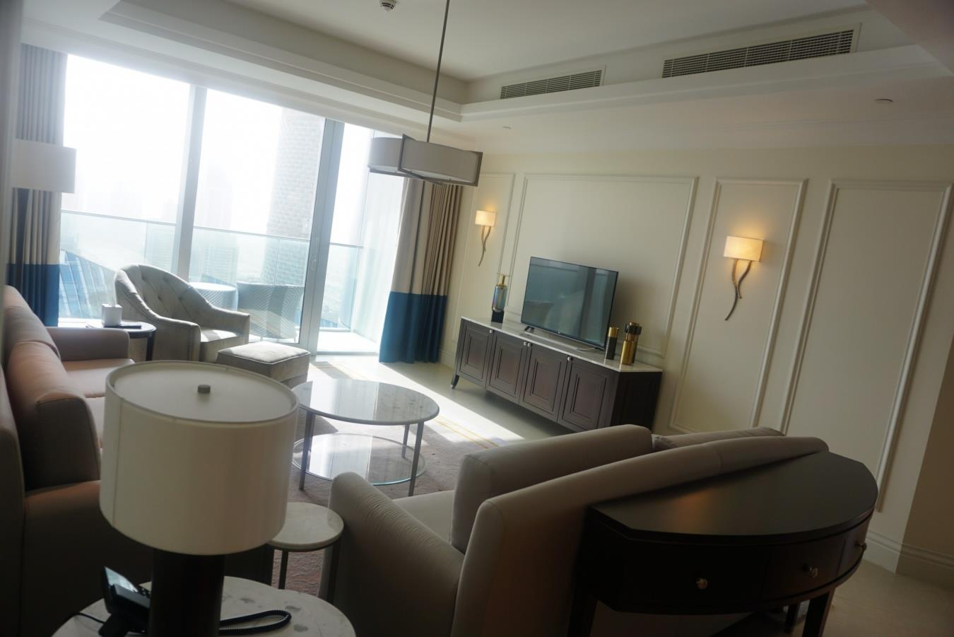 High Floor | Full Fountain and Sea View