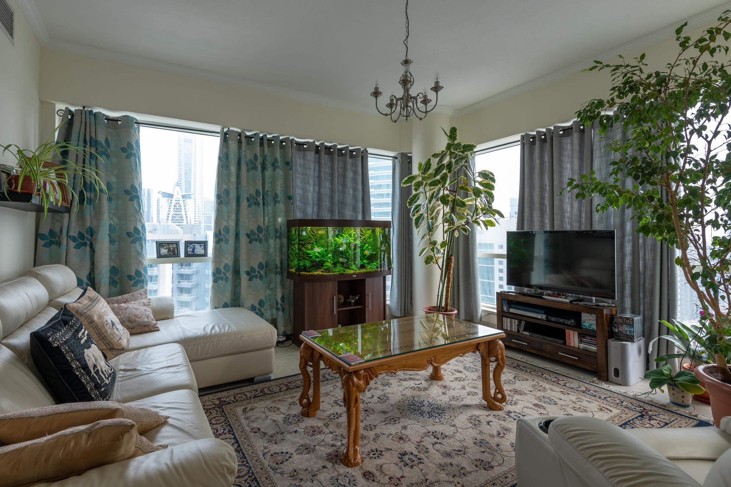 High Floor | Two Bedrooms | Marina views