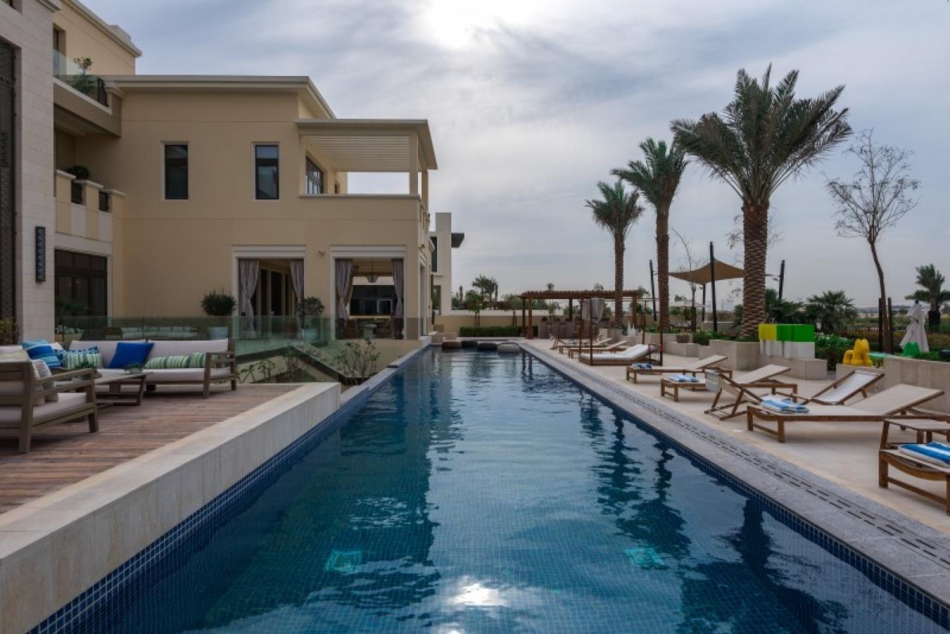 Exquisite Contemporary Arabesque Mansion