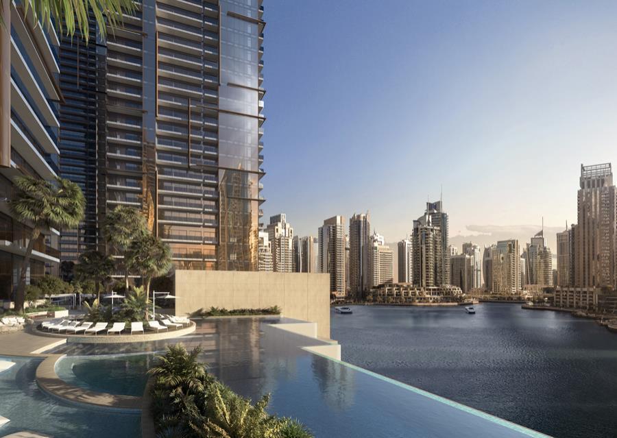 Luxury Two Bedroom Apartment Marina View