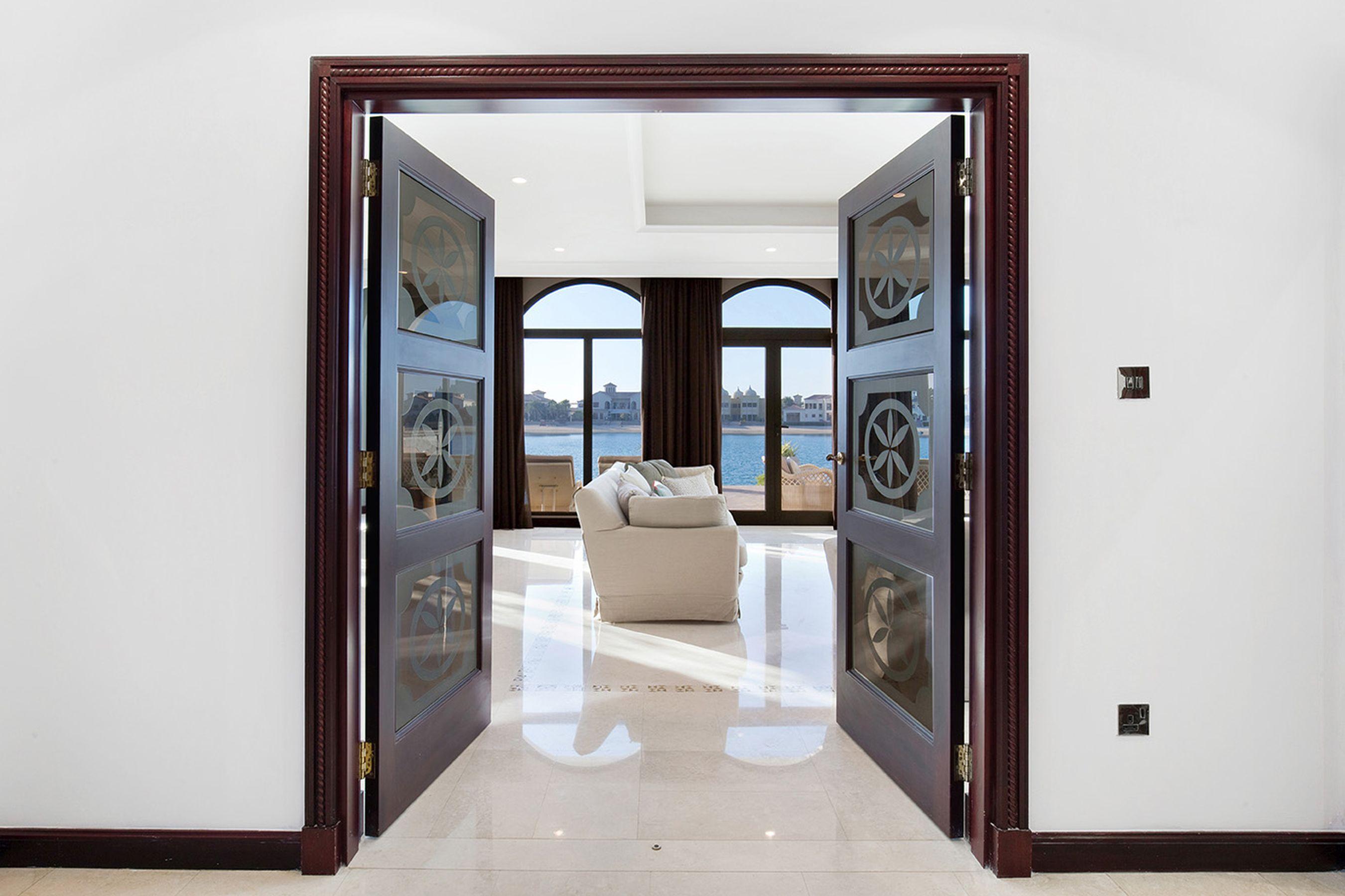 Stunning Atrium 4BR Villa  Atlantis View