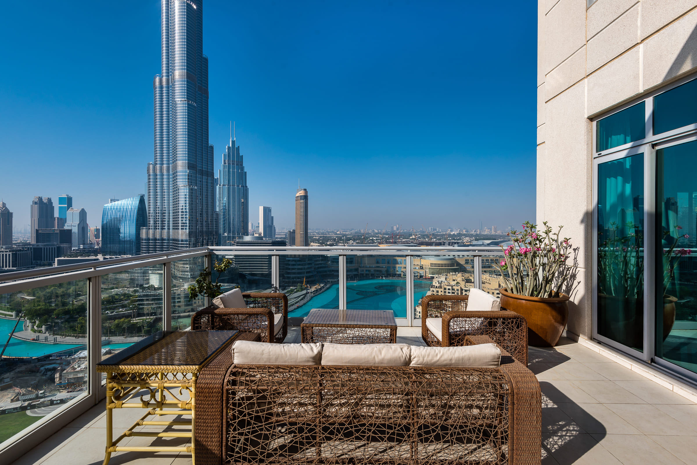 Full Floor Penthouse with Fountain Views