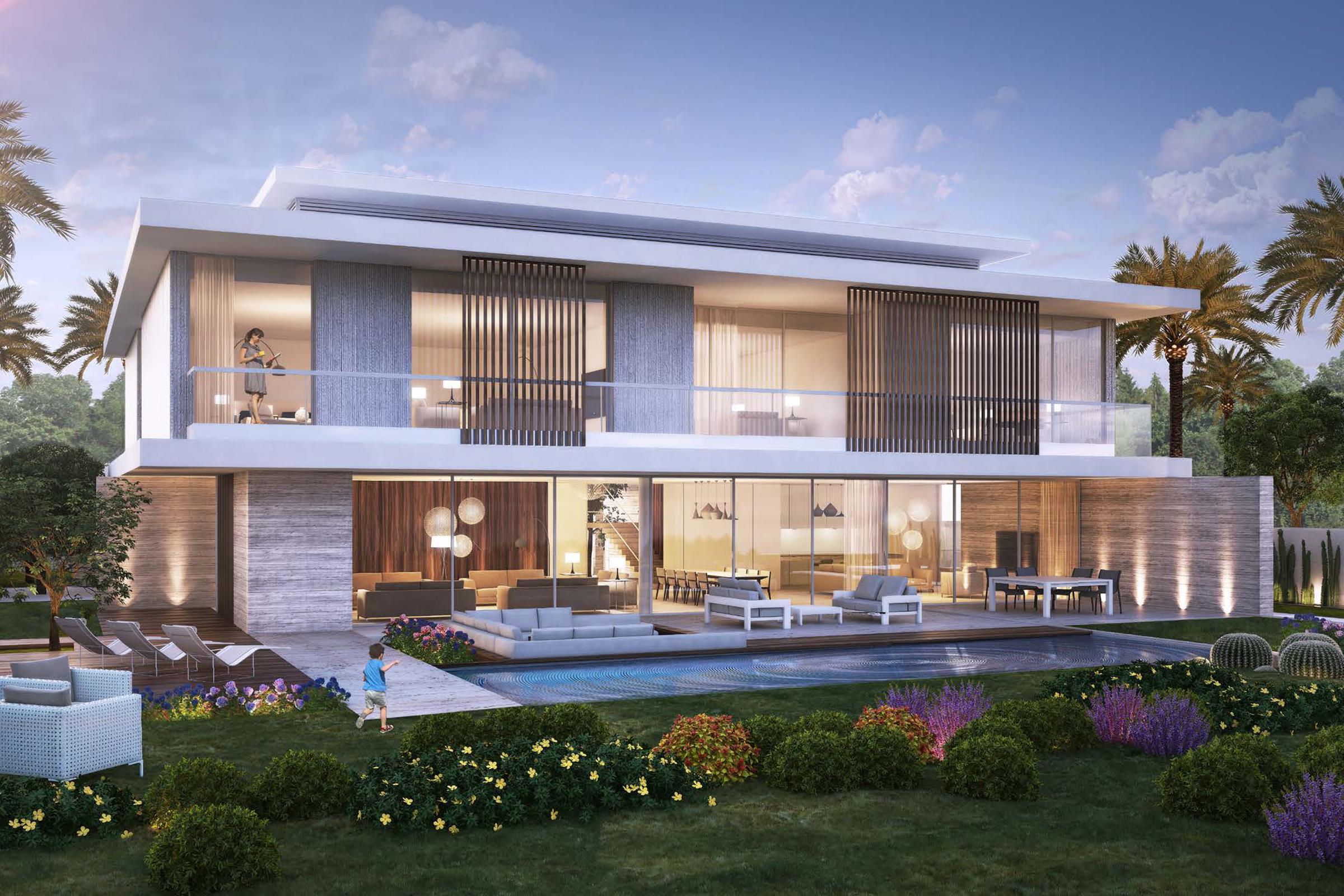 Fairway Vista villa with Largest Plot