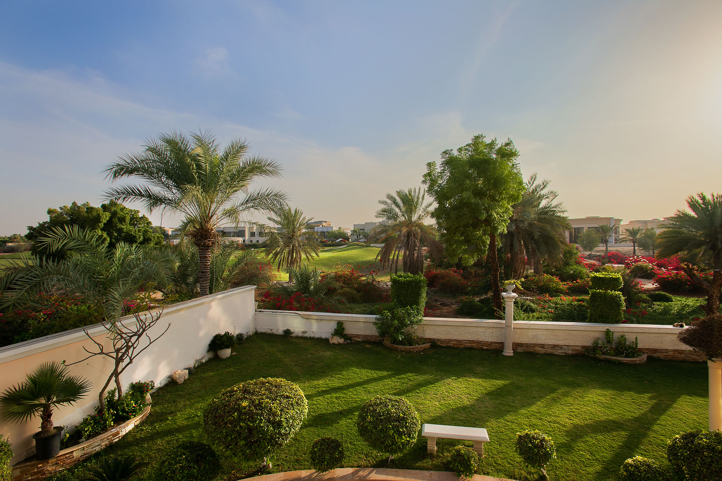 Custom Villa Golf Course Views