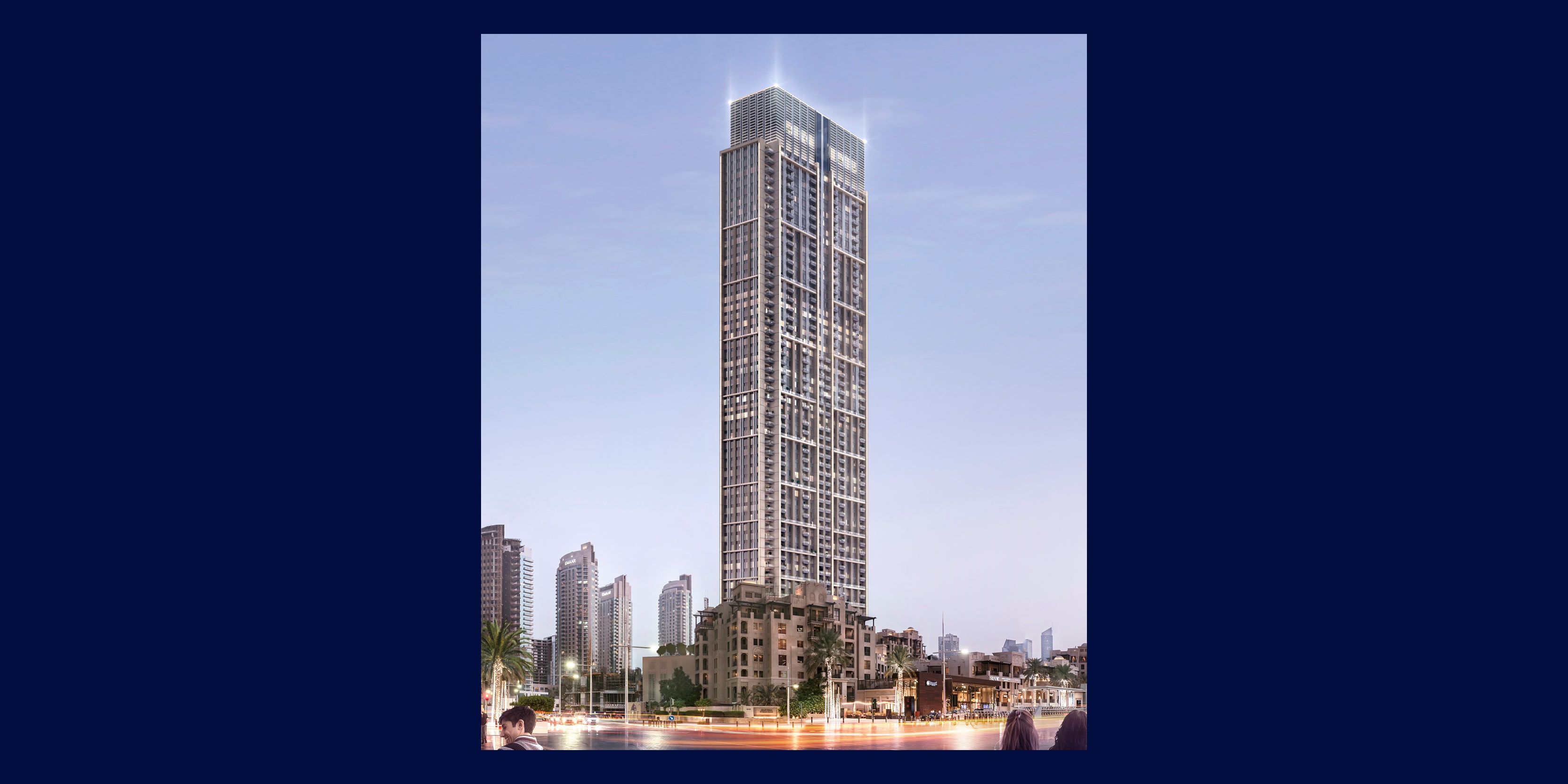 ONE LAST TOWER | Burj Royale | Two Beds