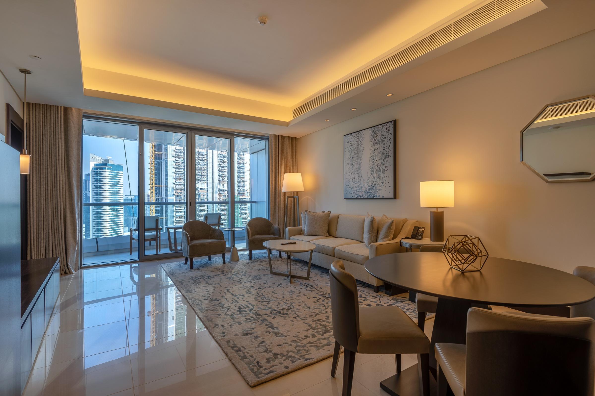 Burj Khalifa Fountain View  High Floor   1 Bedroom