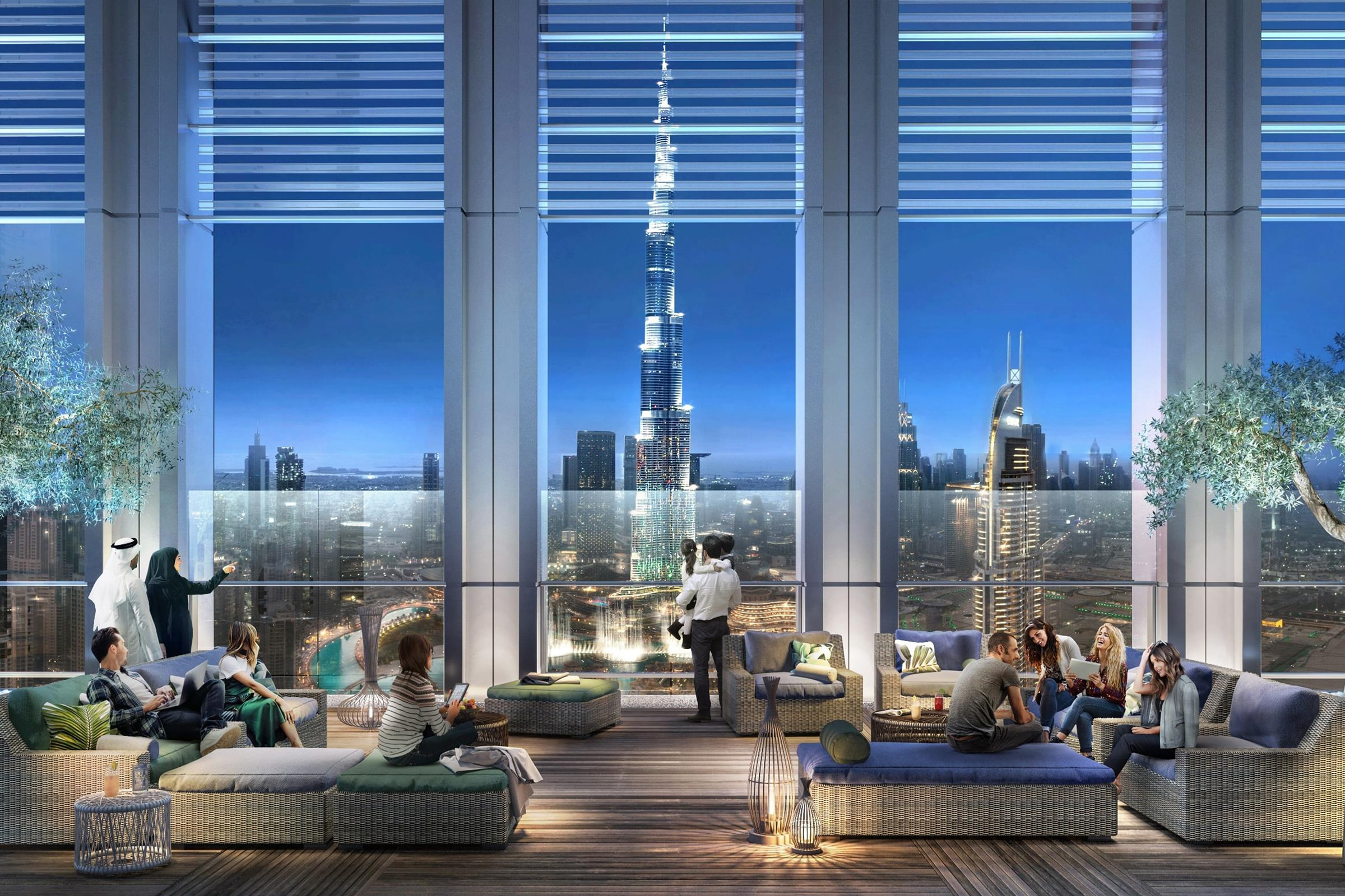 Live Downtown Royale 1 Bed Stunning View