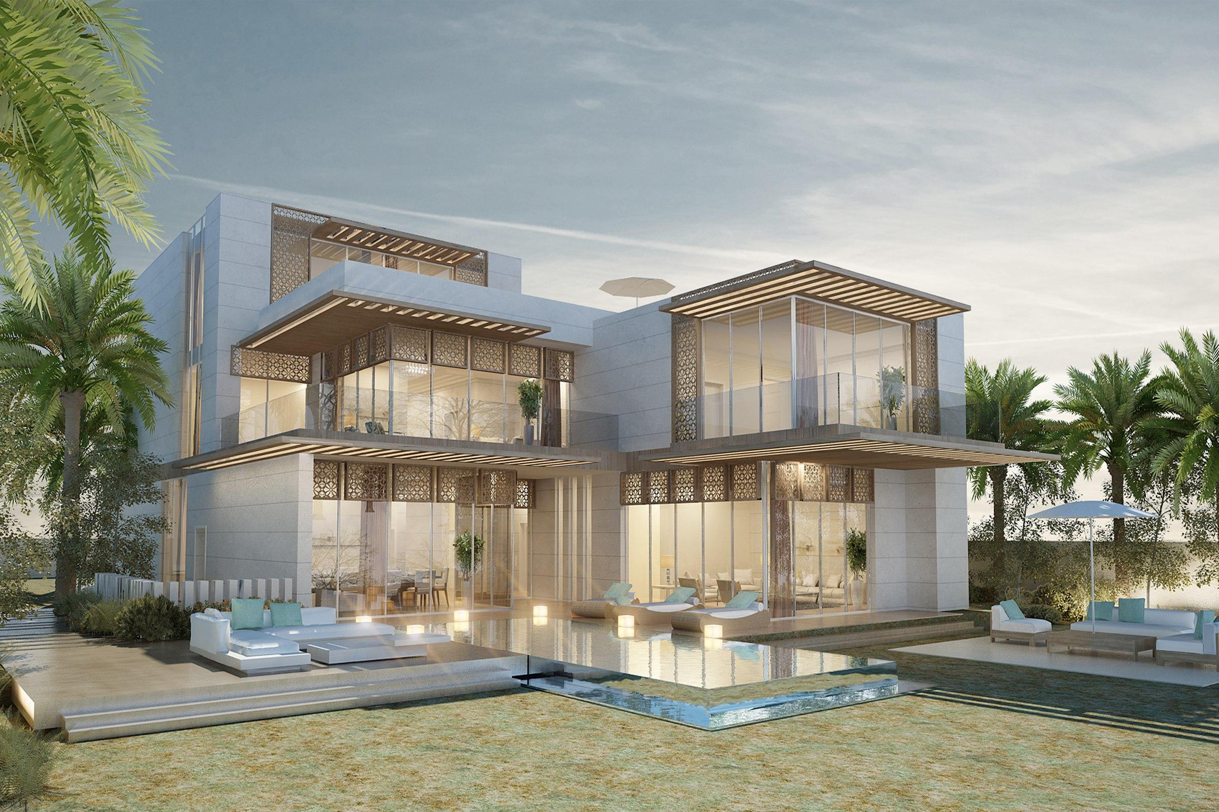 Beach Villa in Dubai